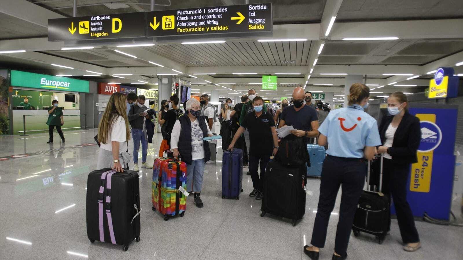 Els primers turistes ja són a Mallorca