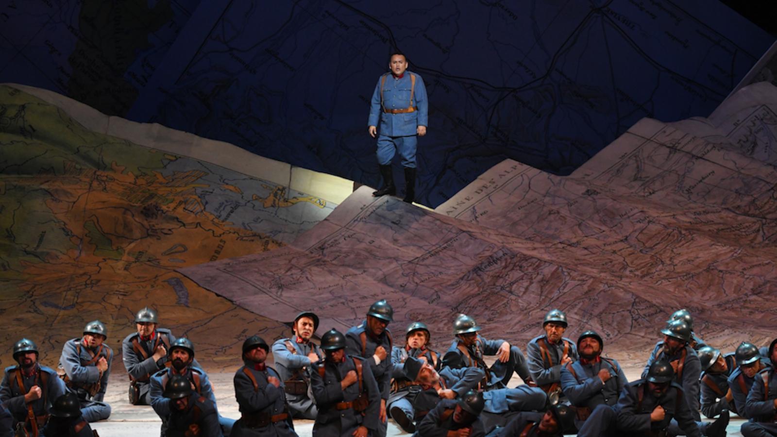 Javier Camarena a 'La fille du régiment' / A. Bofill / Gran Teatre del Liceu