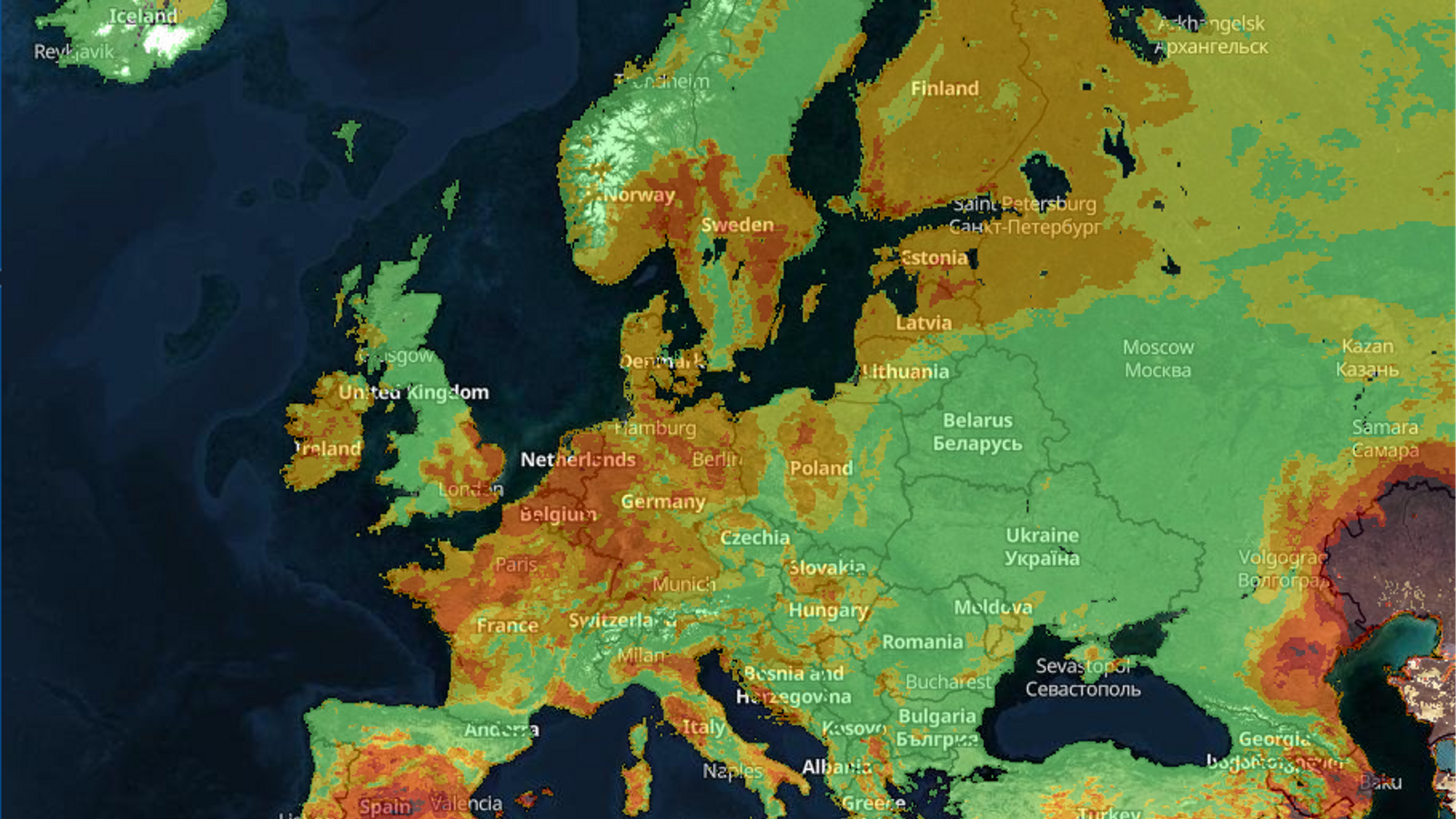 La Unió Europea tem un estiu de grans incendis