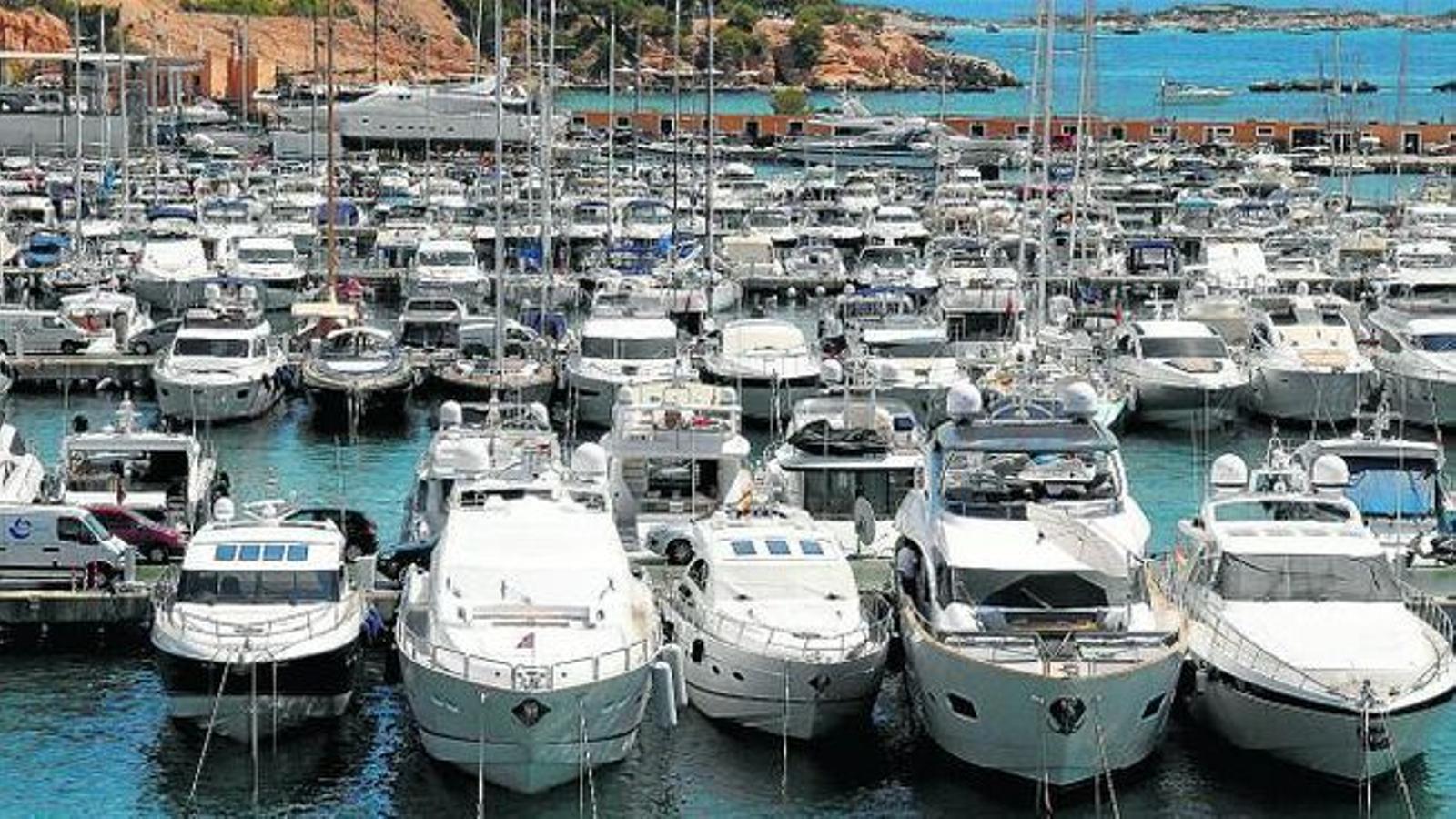 Les embarcacions matriculades a les Illes suposen el 20,07% del total nacional.