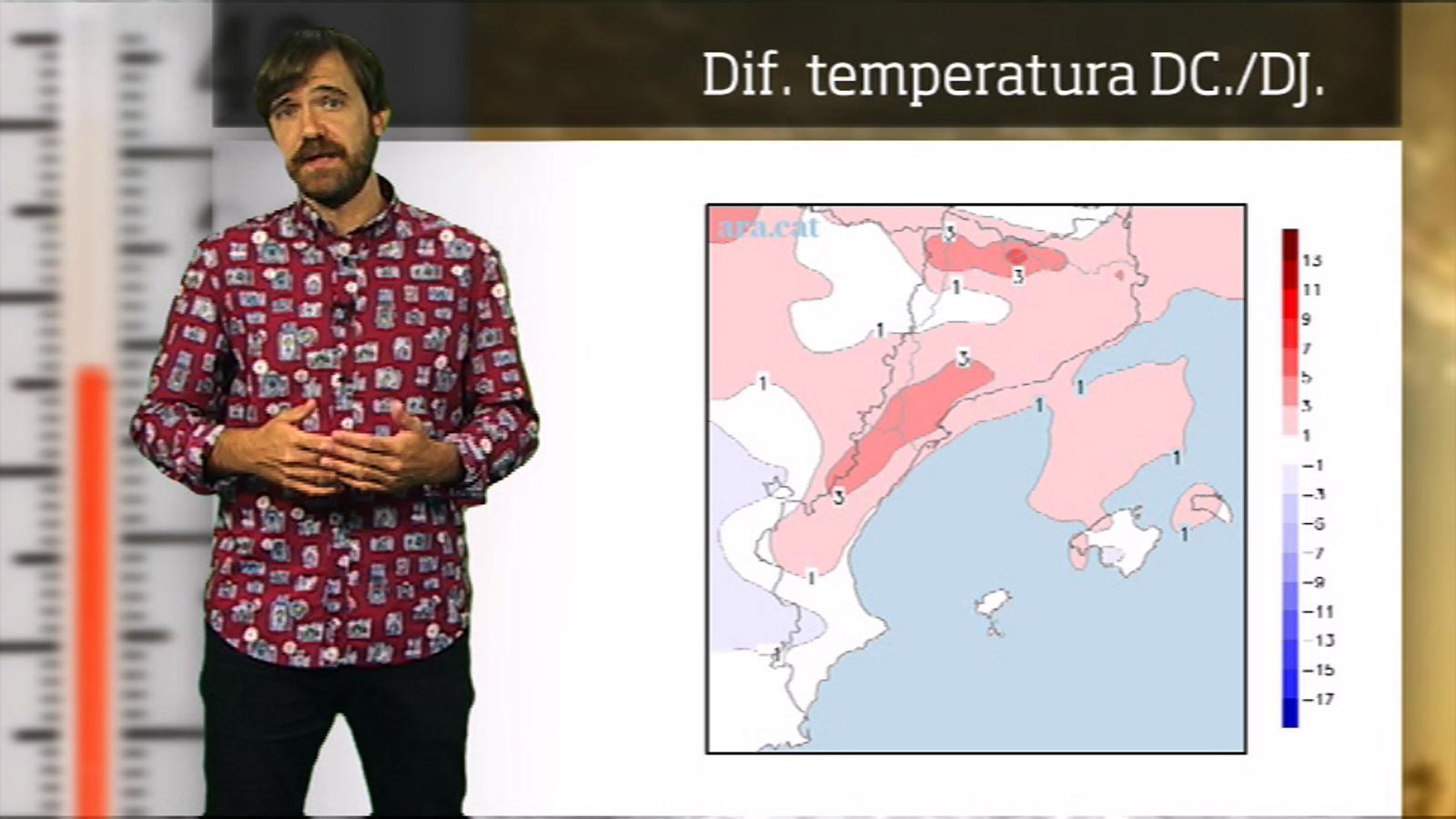 La méteo en 1 minut: calorada per començar el setembre