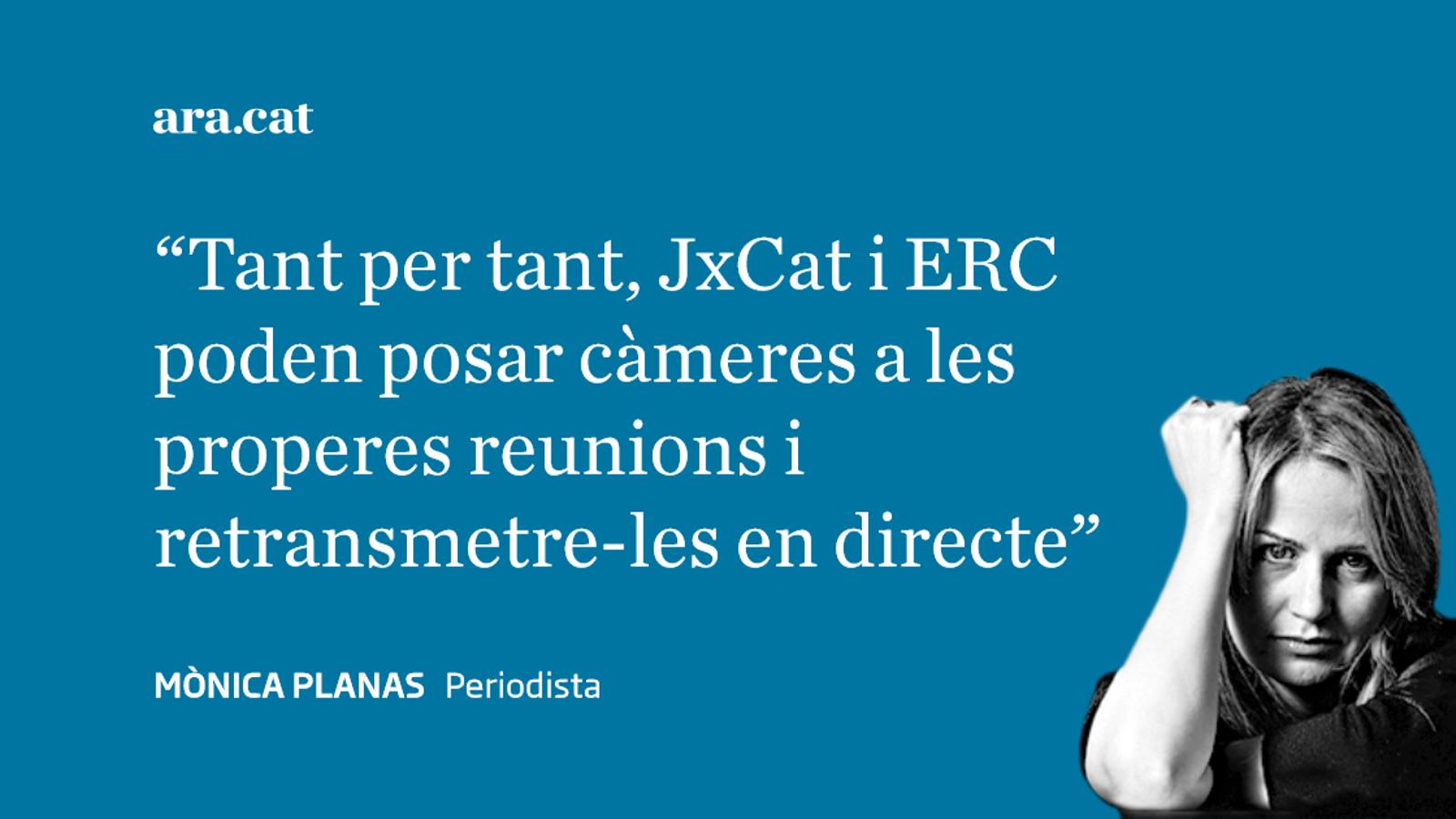 El 'reality show' de JxCat i ERC