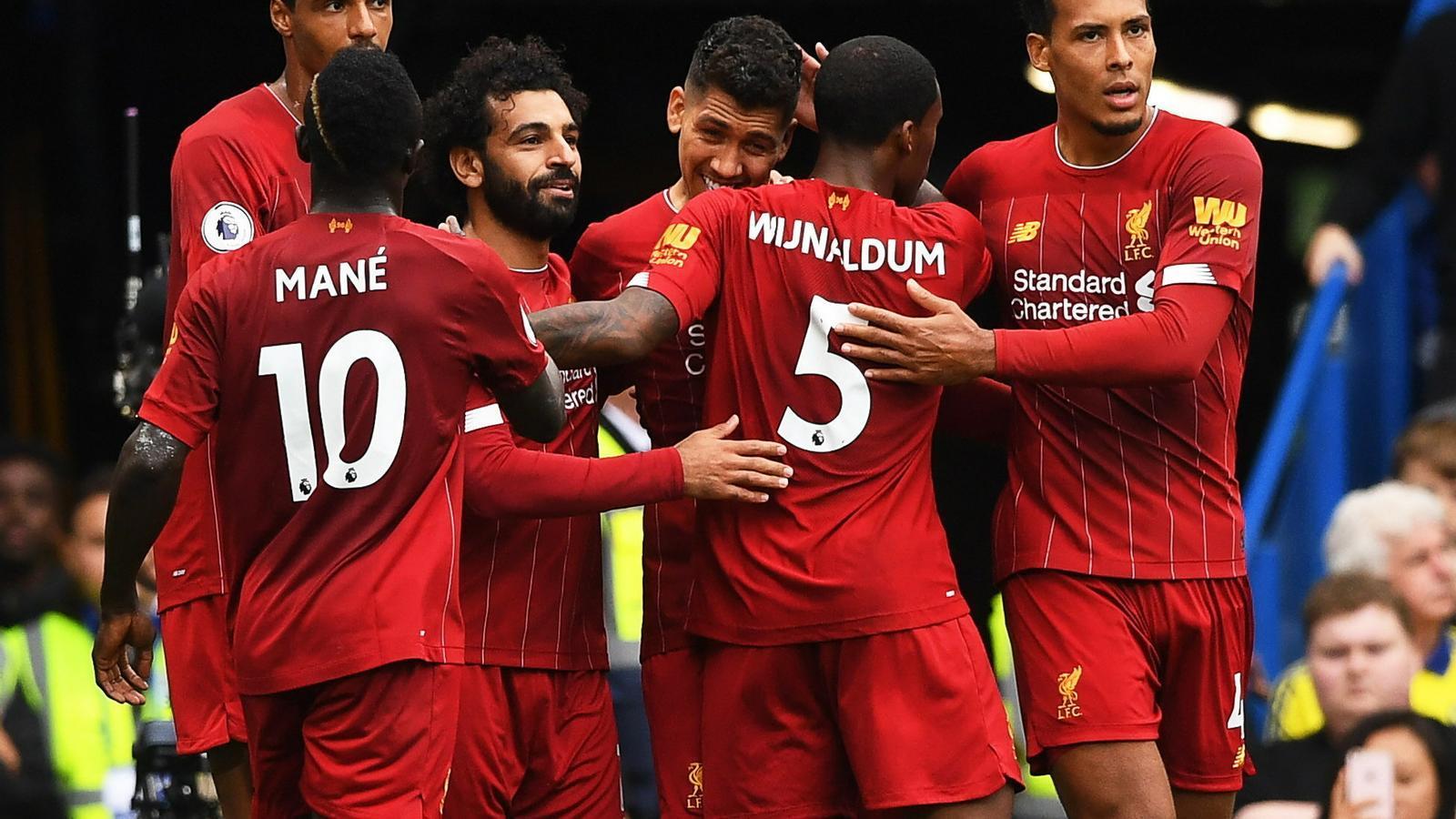 El Liverpool s'aferra al liderat de la Premier i marxa amb premi d'Stamford Bridge (1-2)