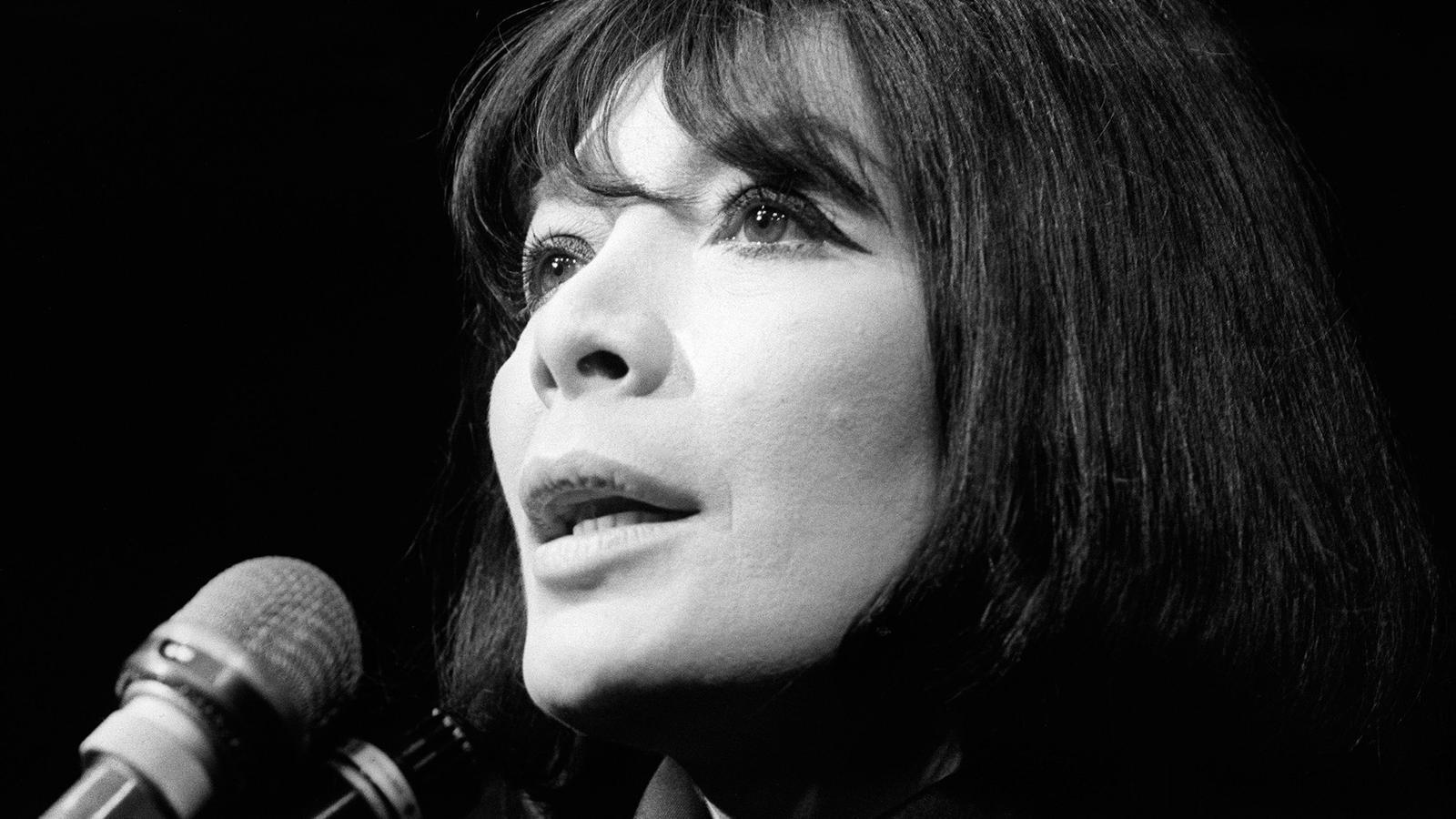 Juliette Greco en una imatge de 1968.