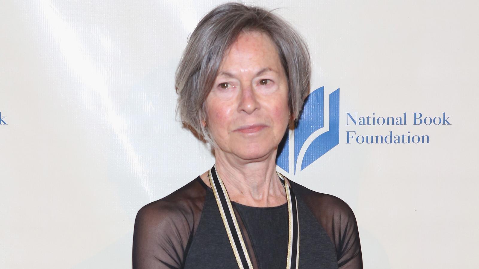 La poeta nord-americana Louise Gluck en una imatge d'arxiu