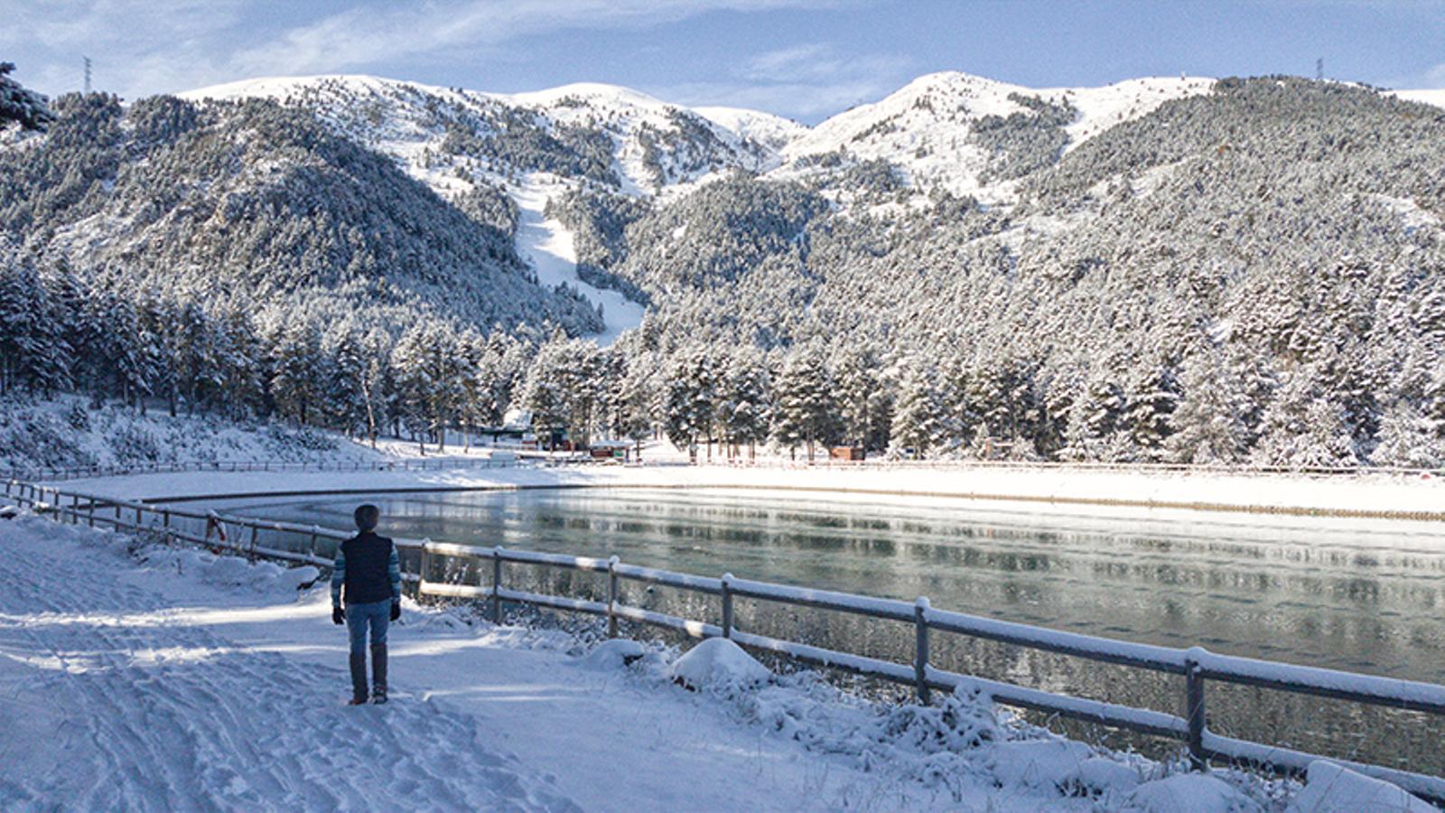 El Pirineu té força més neu de l'esperable a mitjans de novembre