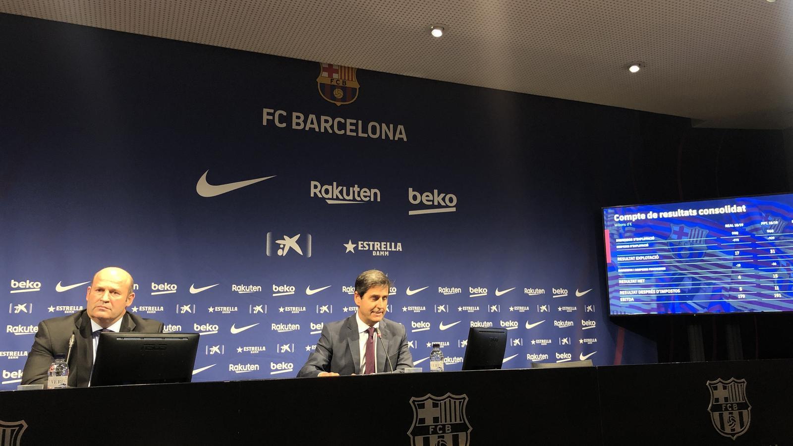 El Barça superarà els 1.000 milions tant en ingressos com en despeses