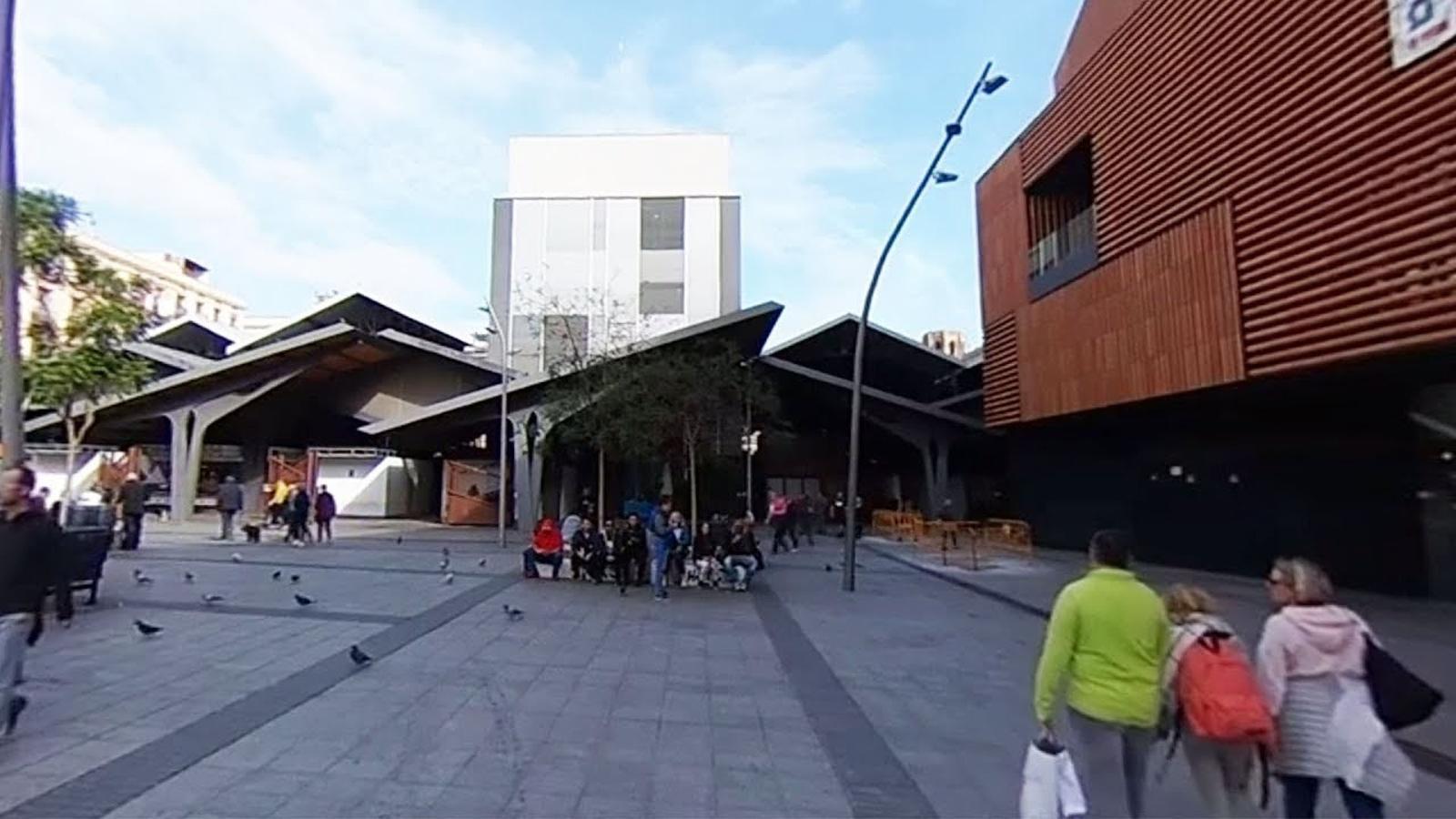 La plaça de la Gardunya en 360º