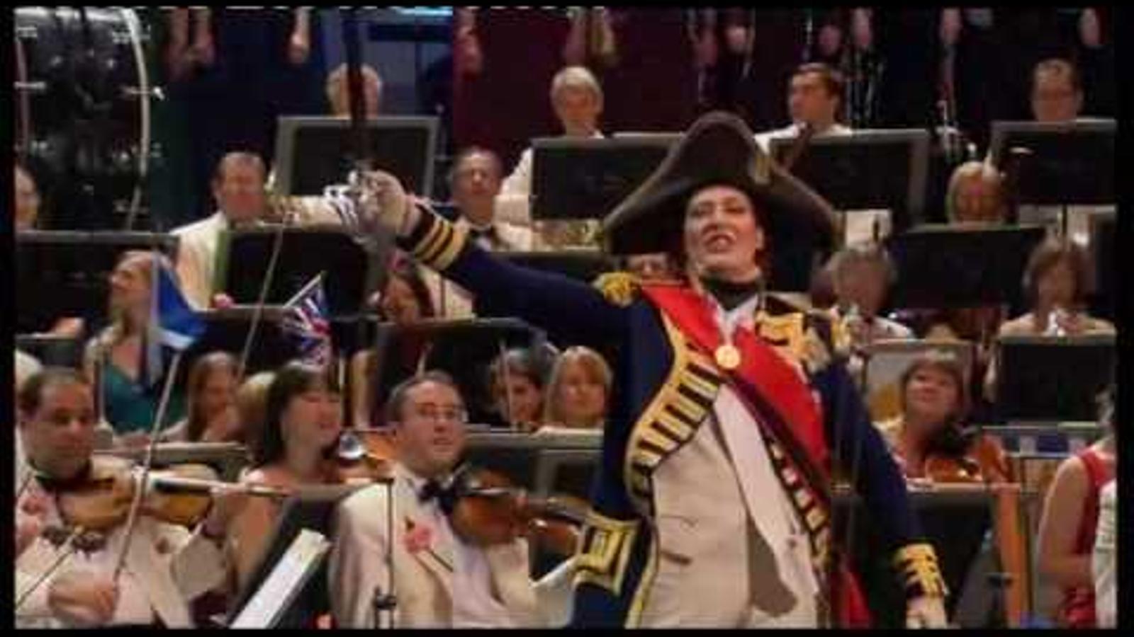 'Rule, Britannia!', darrera nit dels Proms, 2009