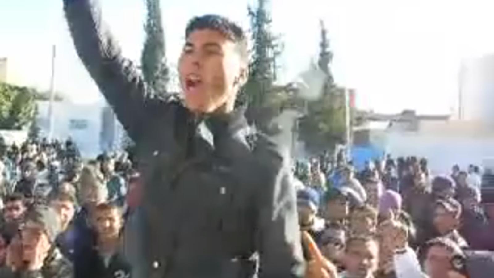 Manifestacions a Tunísia després que Mohammed Bouazizi es cremés fa un any en protesta per la pobresa i els abusos policials