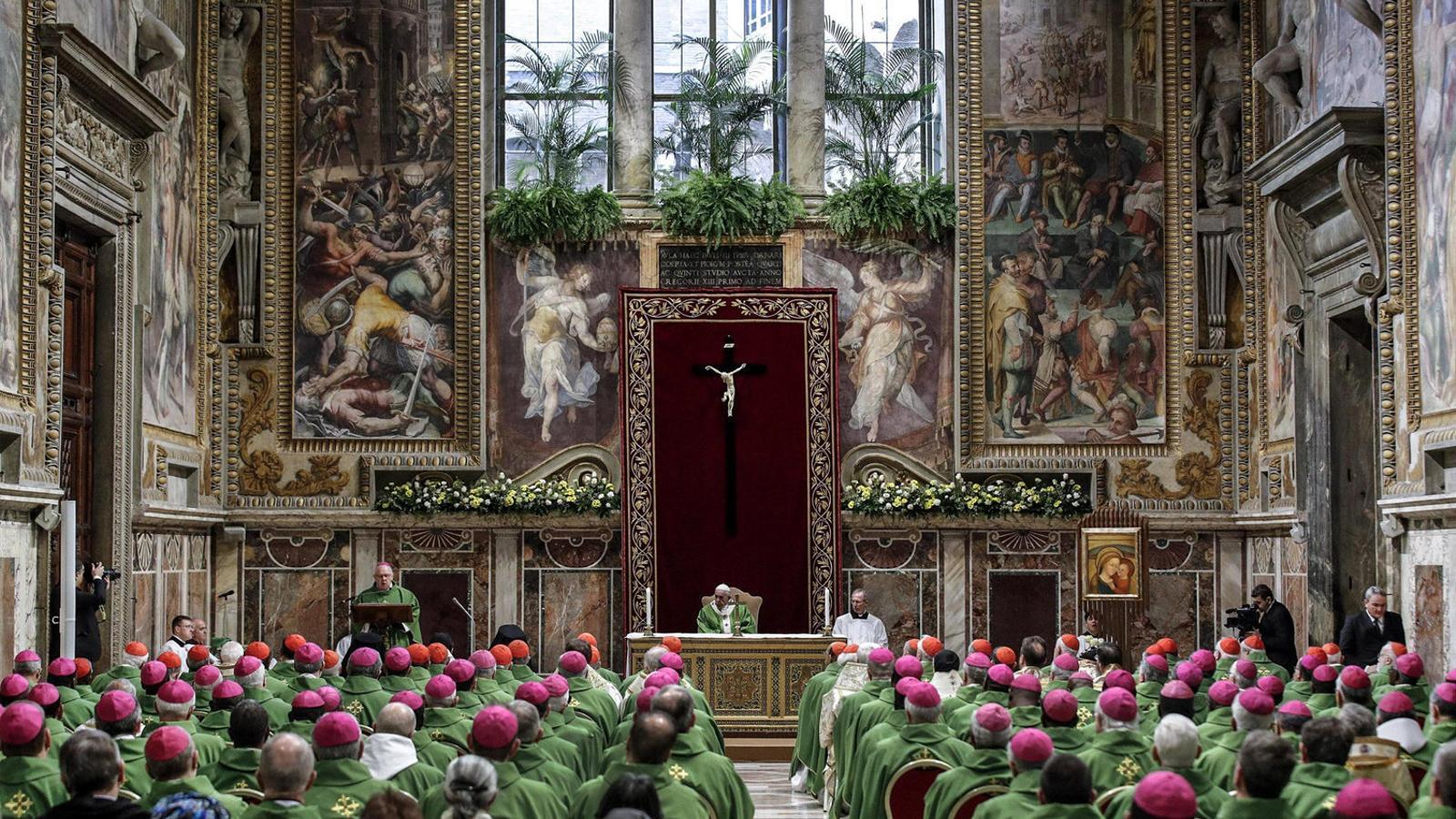 """El Papa clausura la cimera sobre pederàstia sense """"mesures concretes"""""""