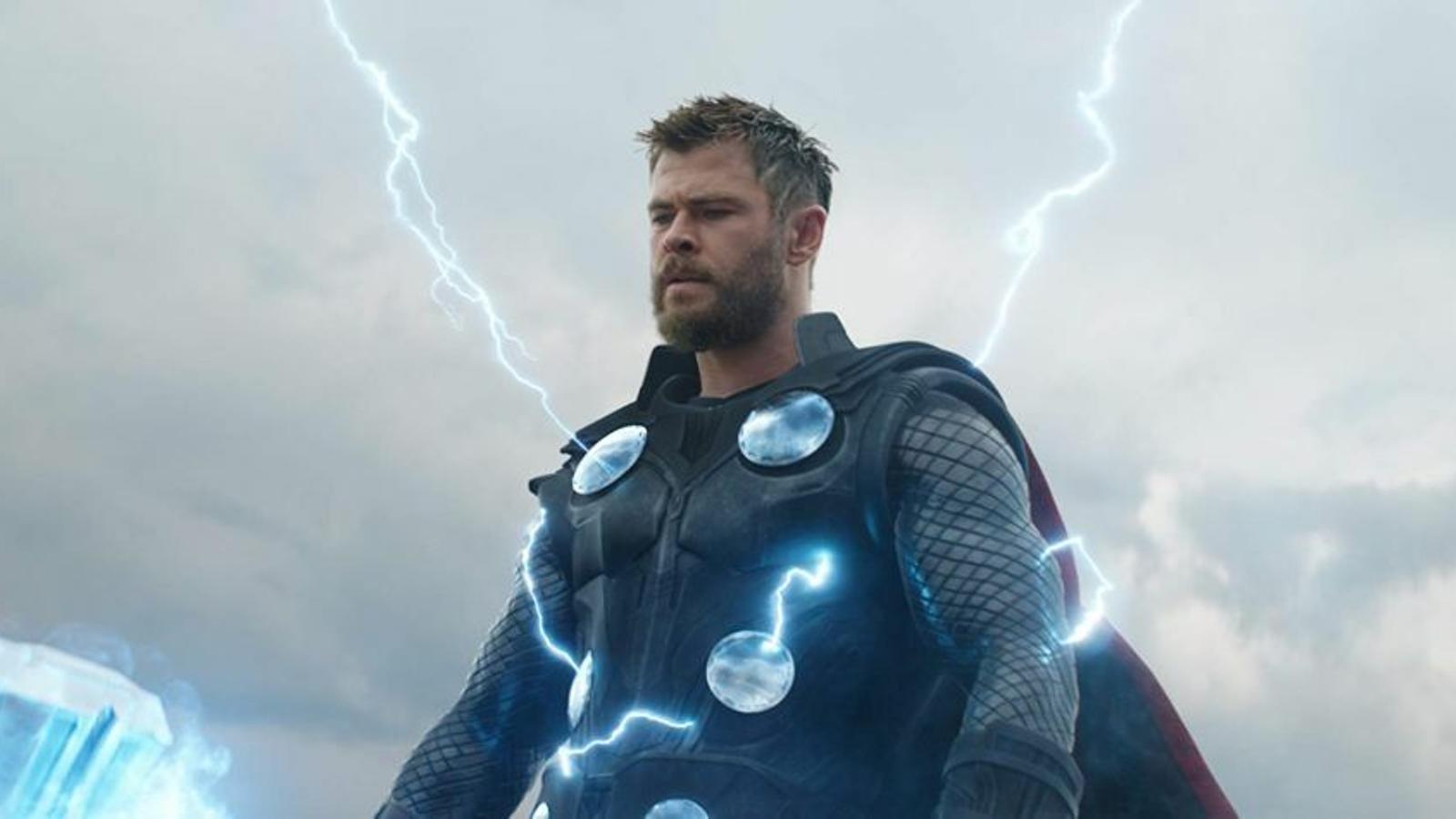 Chris Hemsworth és Thor a 'Vengadores: Endgame', una de les estrenes de la setmana