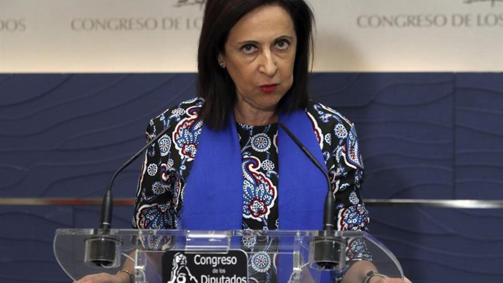 """Robles és """"partidària"""" d'acostar els presos catalans quan el jutge acabi la instrucció o les diligències"""