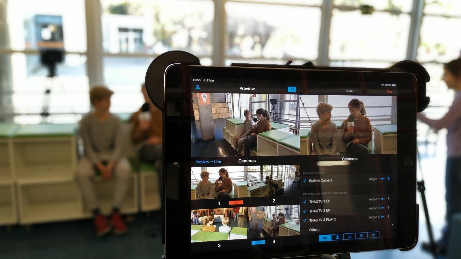 Passar-t'ho bé fent televisió, aprenent, treballant de manera transversal i cohesionant l'alumnat és possible