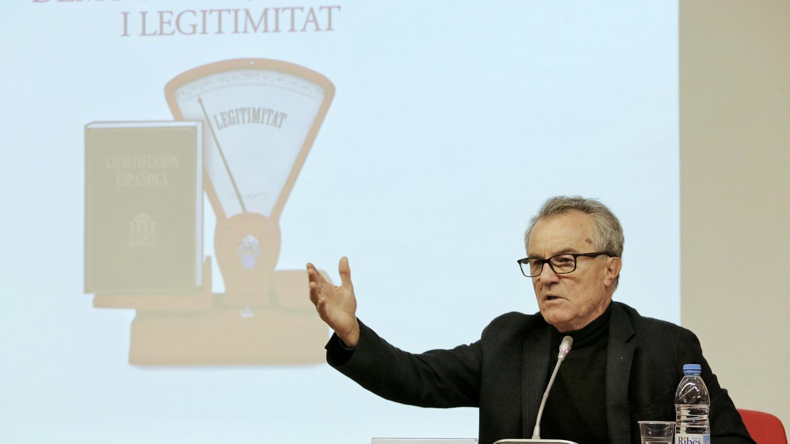 El catedràtic de dret Constitucional, Javier Pérez Royo