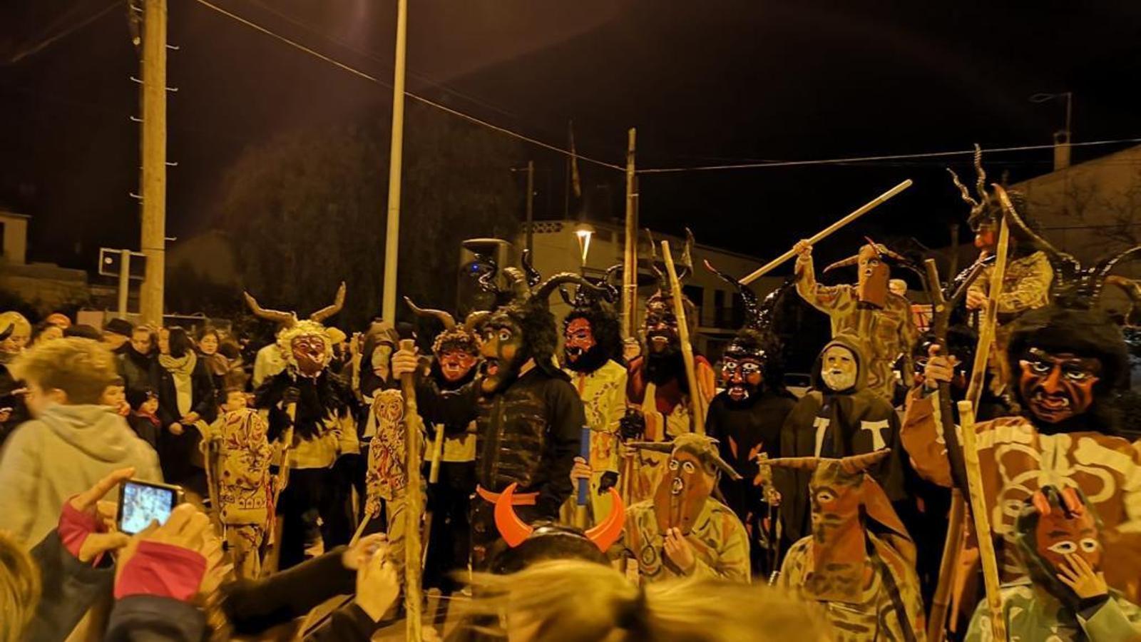 Els dimonis de la contrada acudiren a la ja tradicional trobada de s'Illot