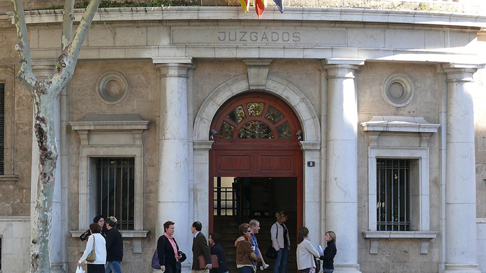 Els jutjats de Via Alemanya de Palma. / ARA BALEARS