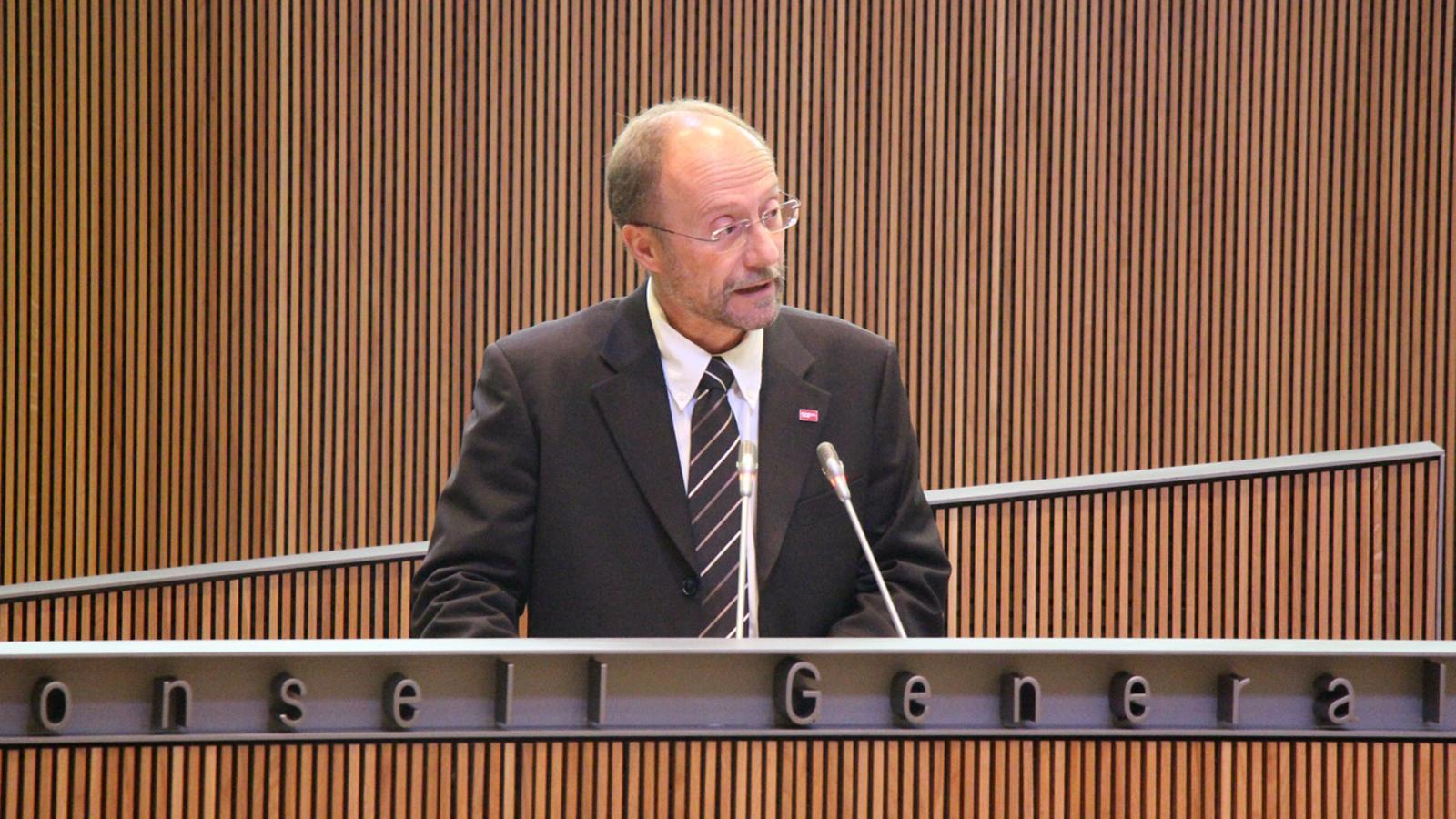 Víctor Naudi al Consell General