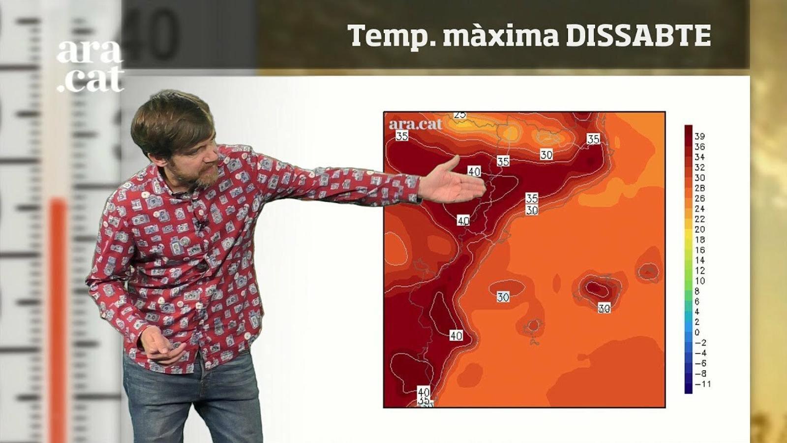 Méteo especial: el cap de setmana començarà amb temperatures de fins a 40 graus