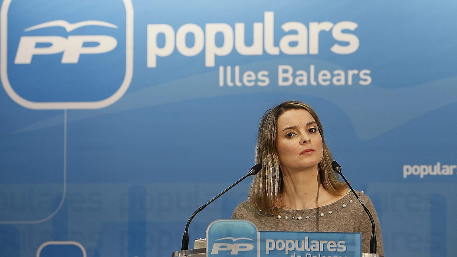 La portaveu adjunta del PP en el Congrés, Malrga Prohens