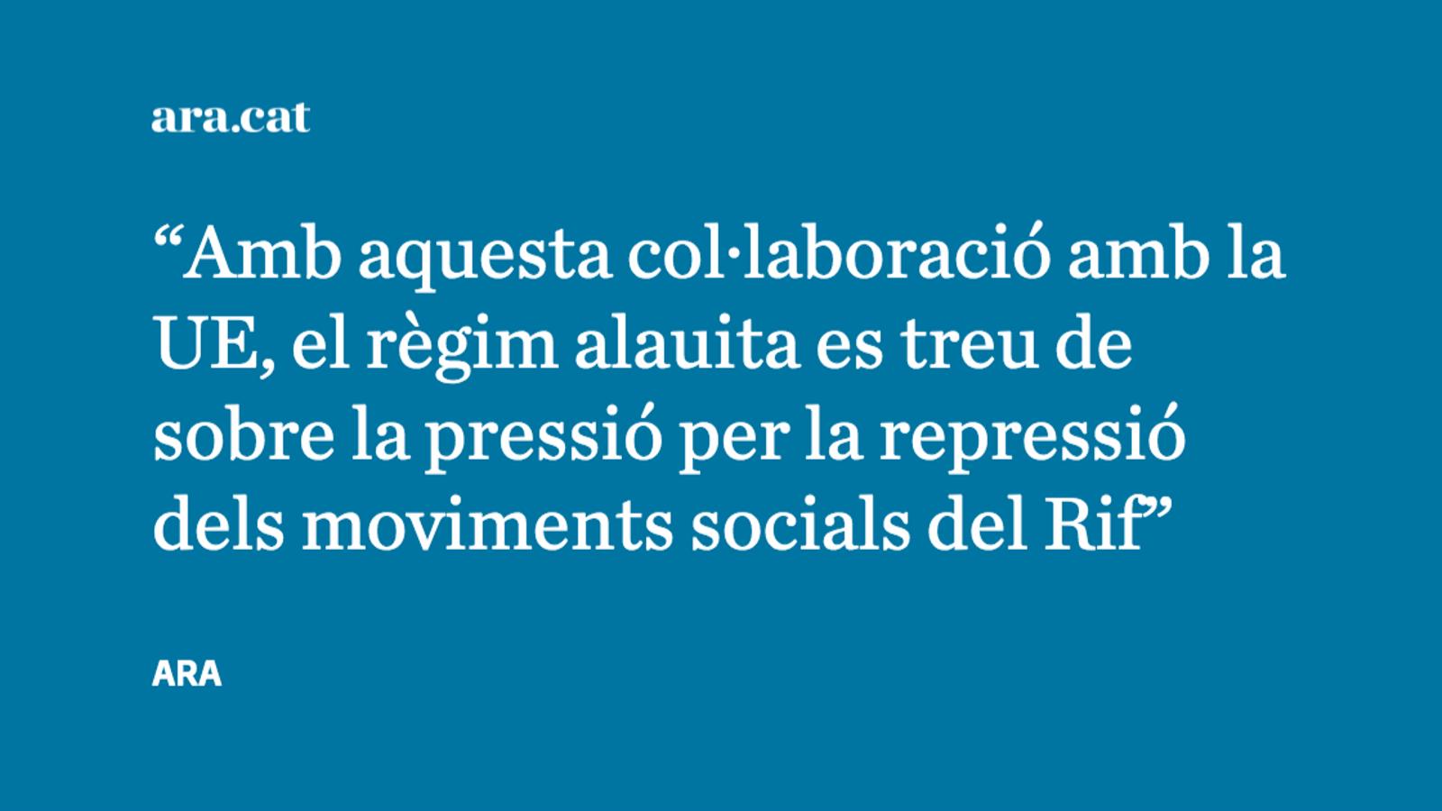 Espanya, el Marroc i la feina bruta contra la immigració