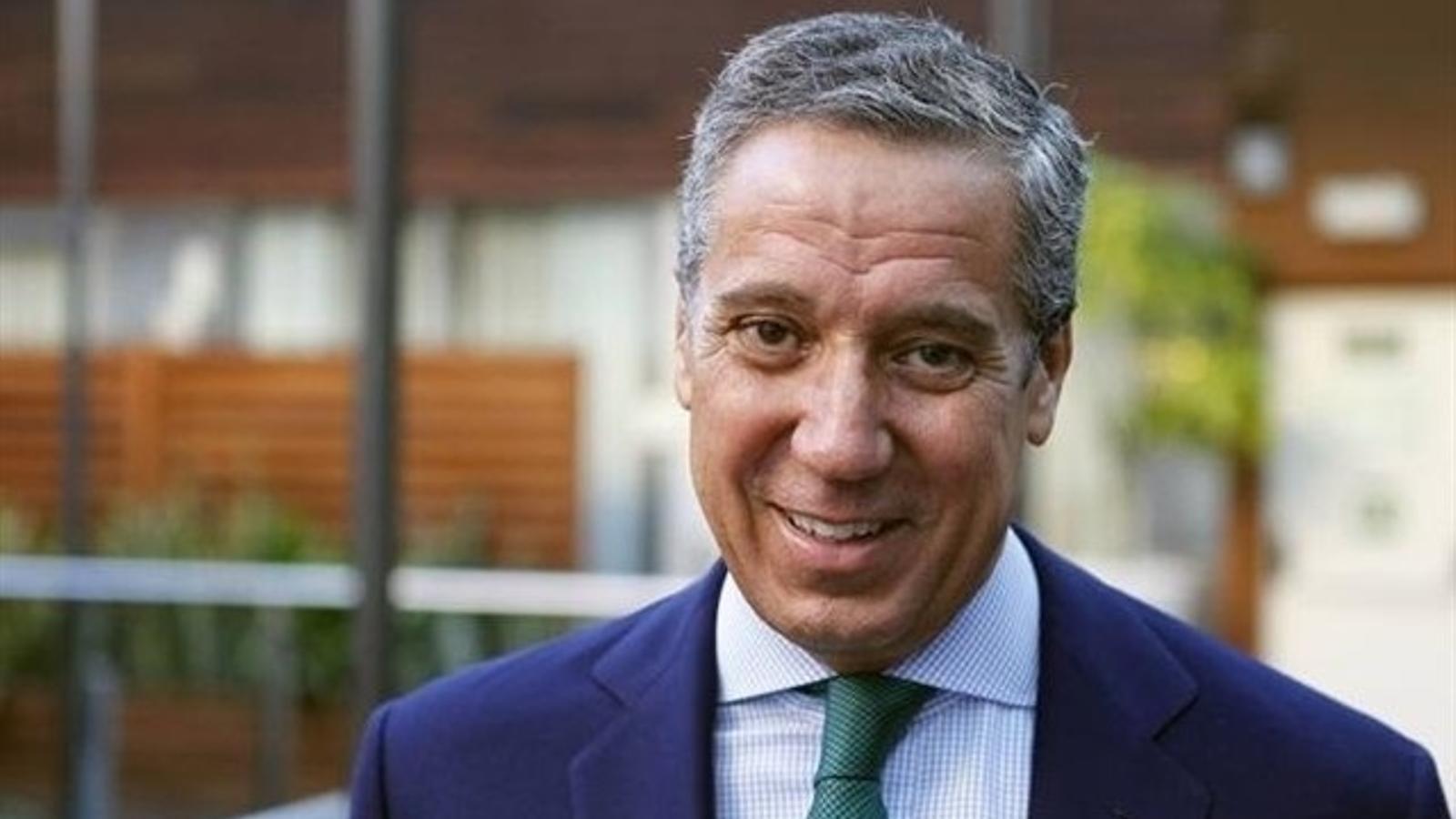 L'expresident de la Generalitat Valenciana, Eduardo Zaplana, en una imatge d'arxiu