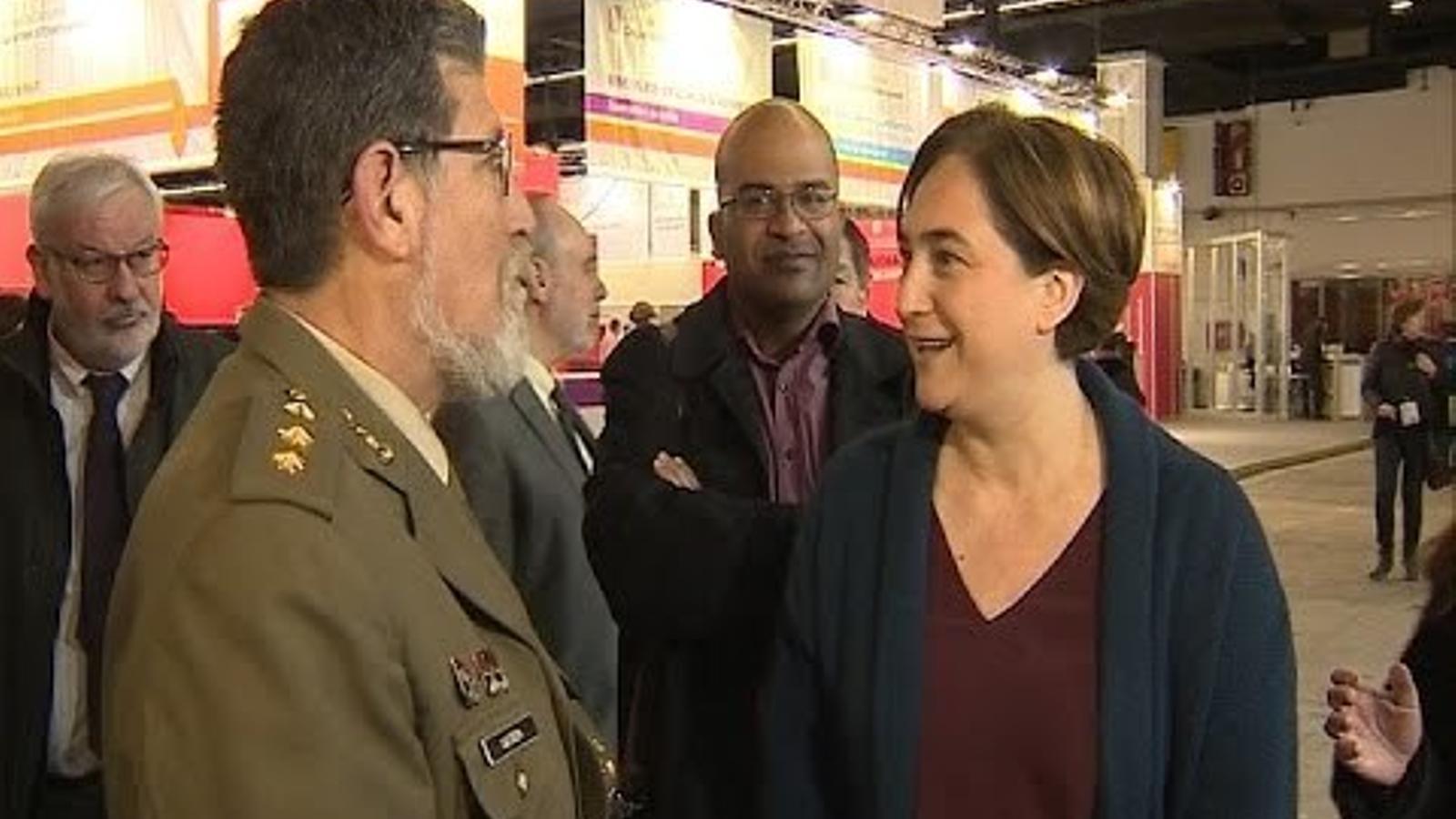 L'exèrcit no assistirà al Saló de l'Ensenyament de Barcelona