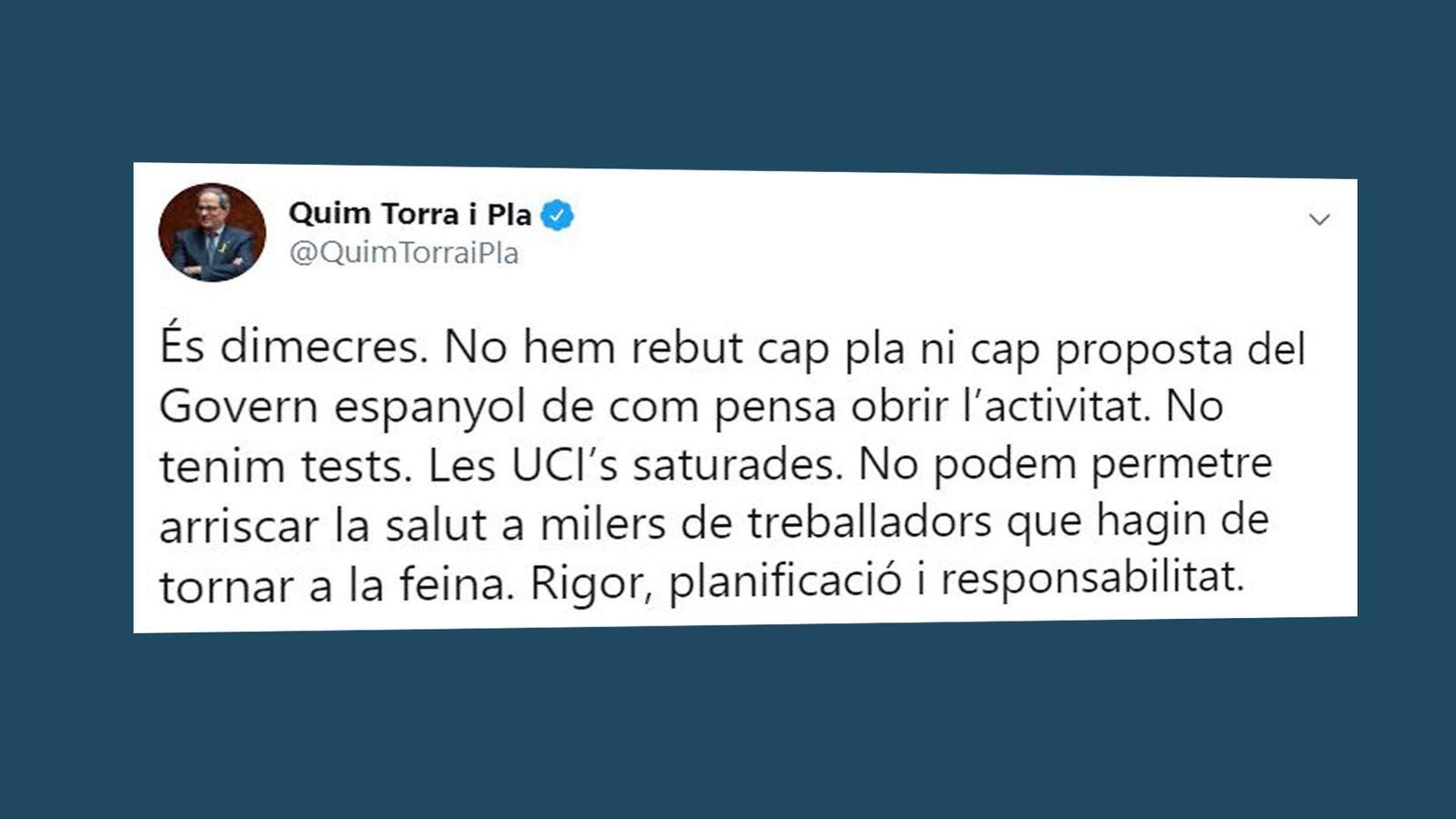 Les residències en mans de Salut i l'OMS diu que no és moment de relaxar mesures: les claus del vespre amb Antoni Bassas (08/04/2020)