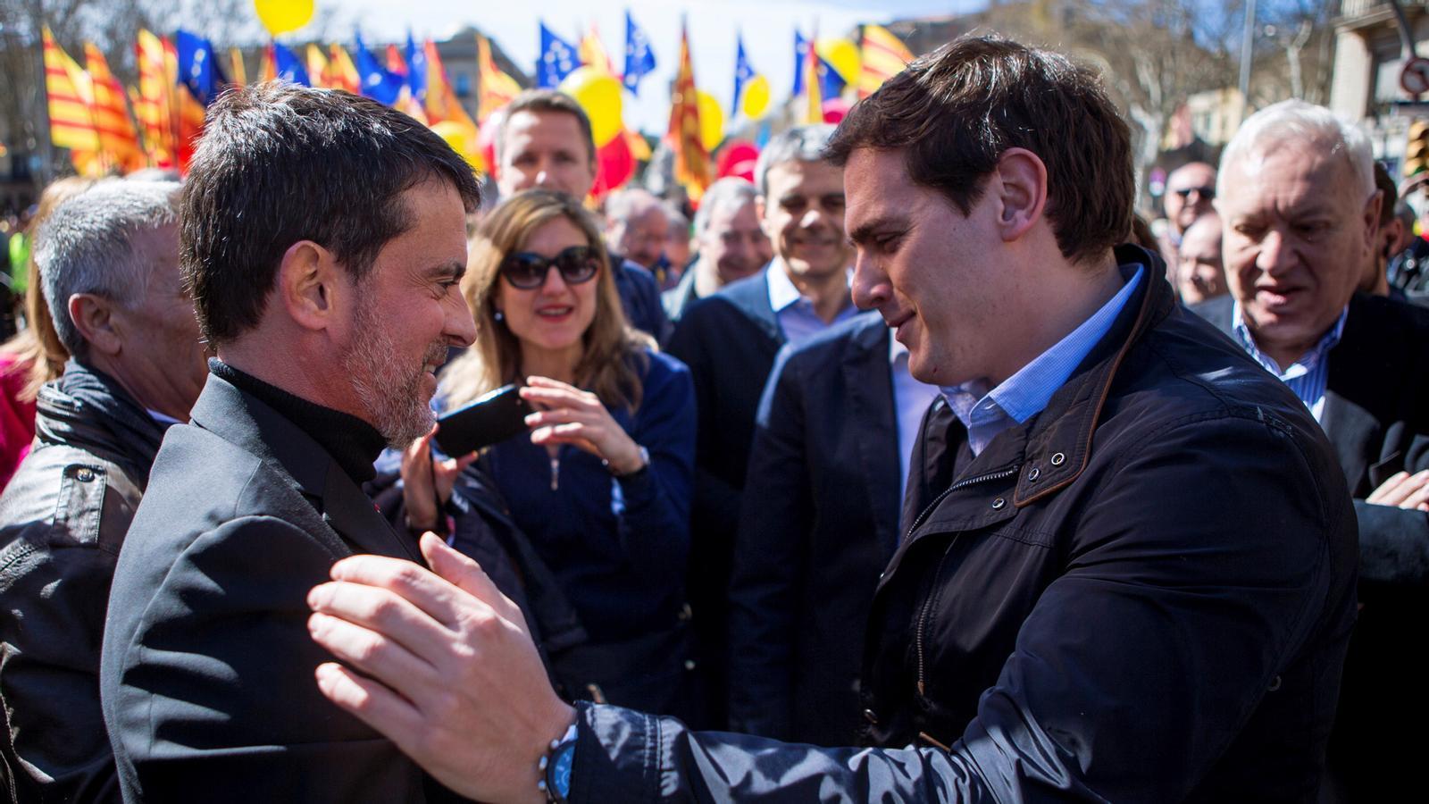 """L'anàlisi d'Antoni Bassas: 'Valls descobreix ara que Ciutadans integra el """"Trifachito""""'"""