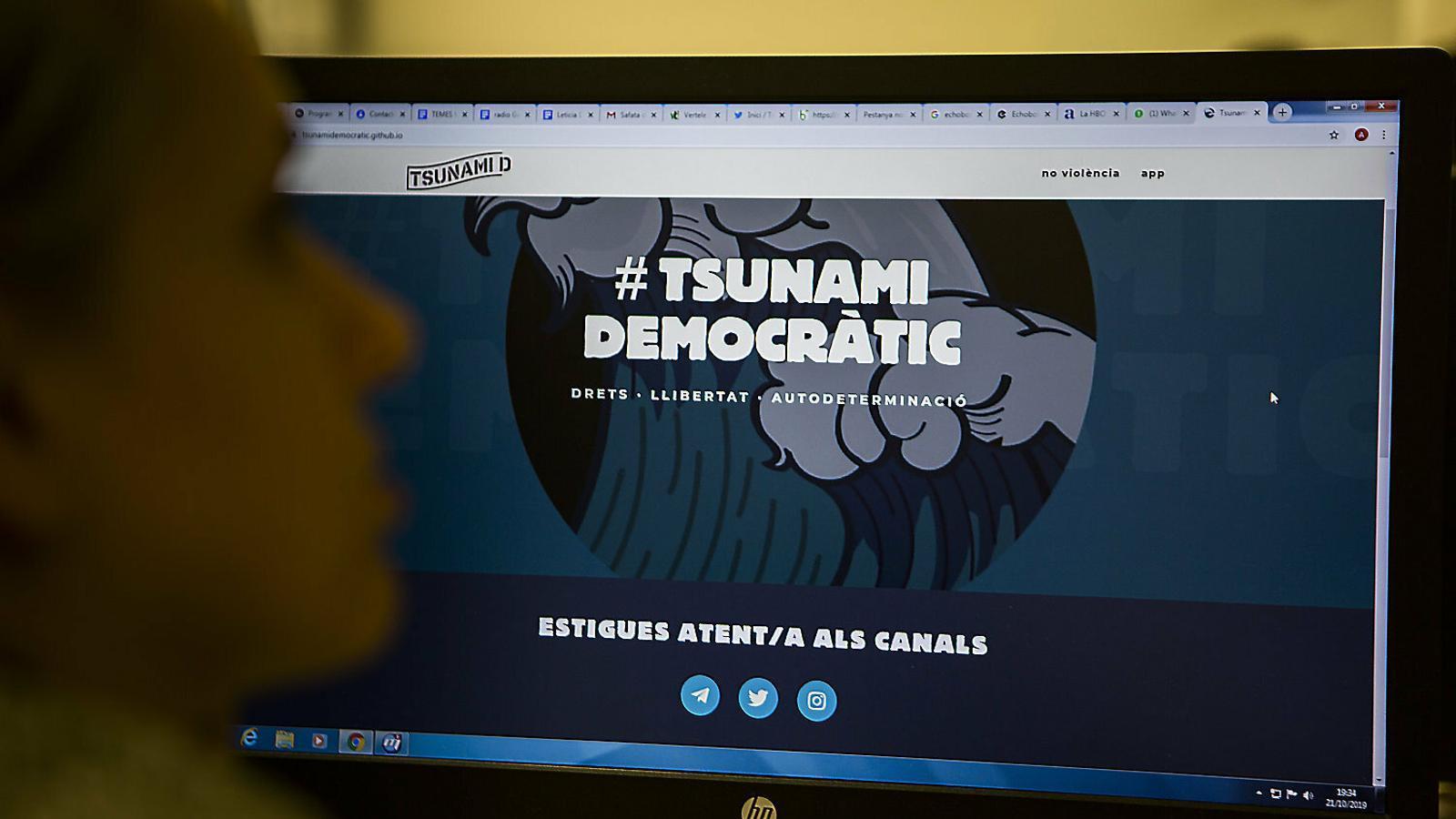 El Tsunami Democràtic,  radiografia tècnica
