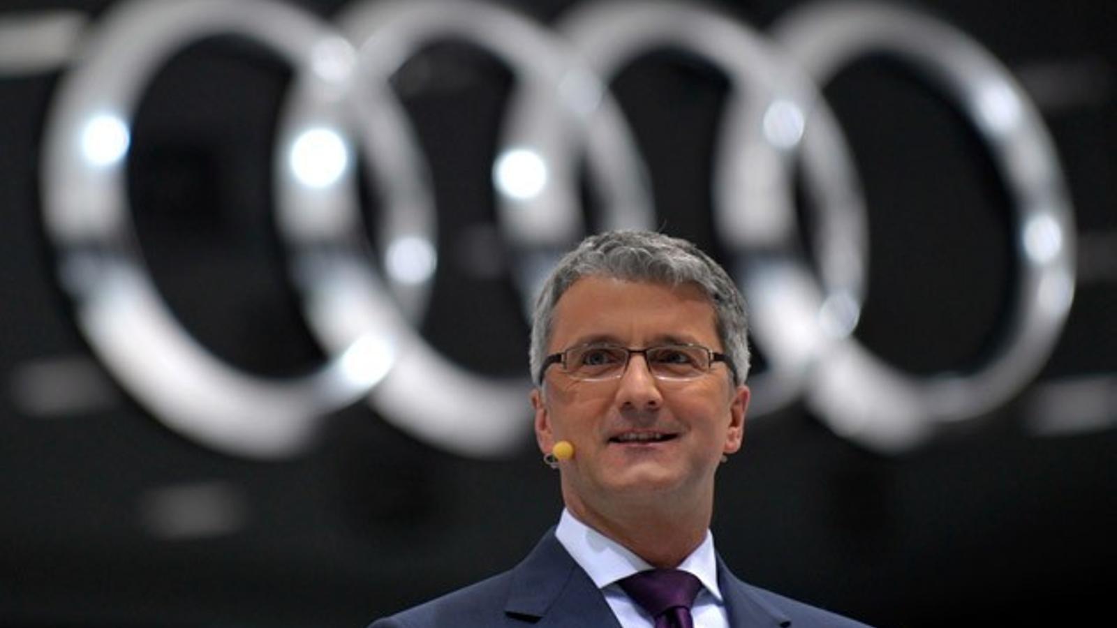 La policia alemanya deté el president d'Audi pel Dieselgate