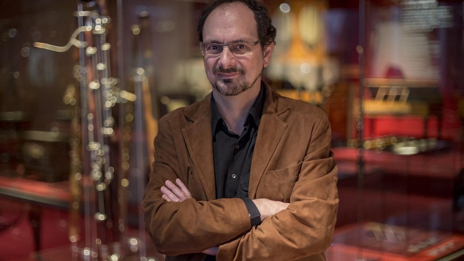 Jaume Ayats, director del Museu de la Música