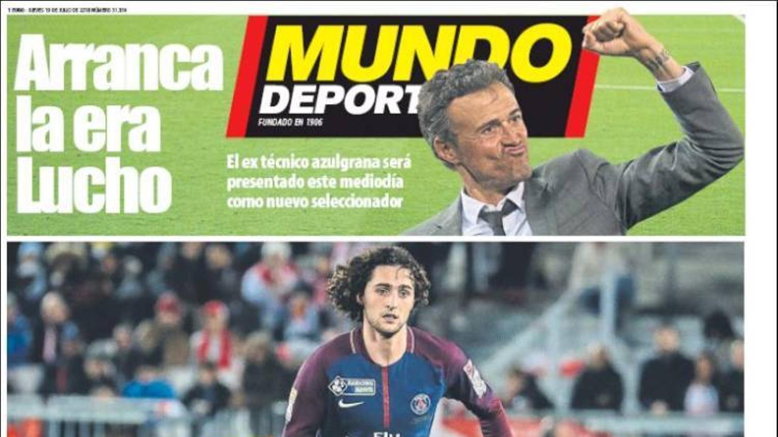 Portada 19 juliol 2018 Mundo Deportivo