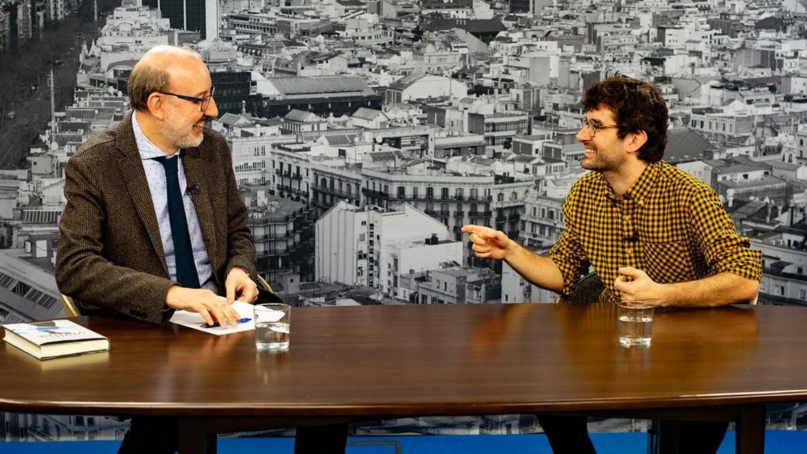 Entrevista d'Antoni Bassas a Marc Artigau