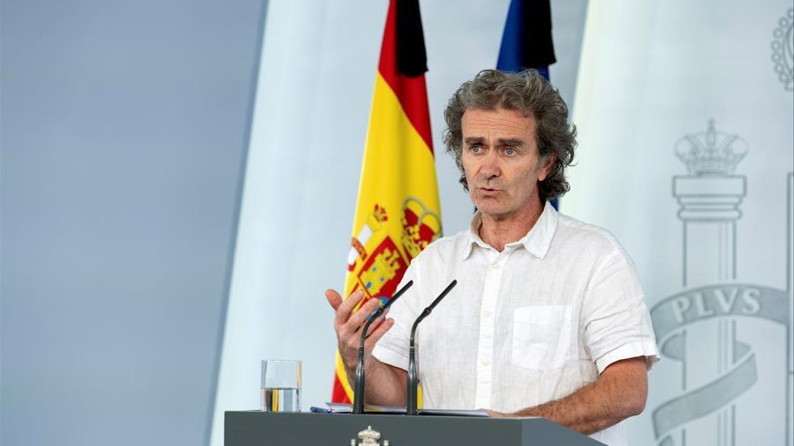 El director del Centre de Coordinació d'Alertes i Emergències Sanitàries, Fernando Simón, actualitza la situació del covid-19 a l'Estat