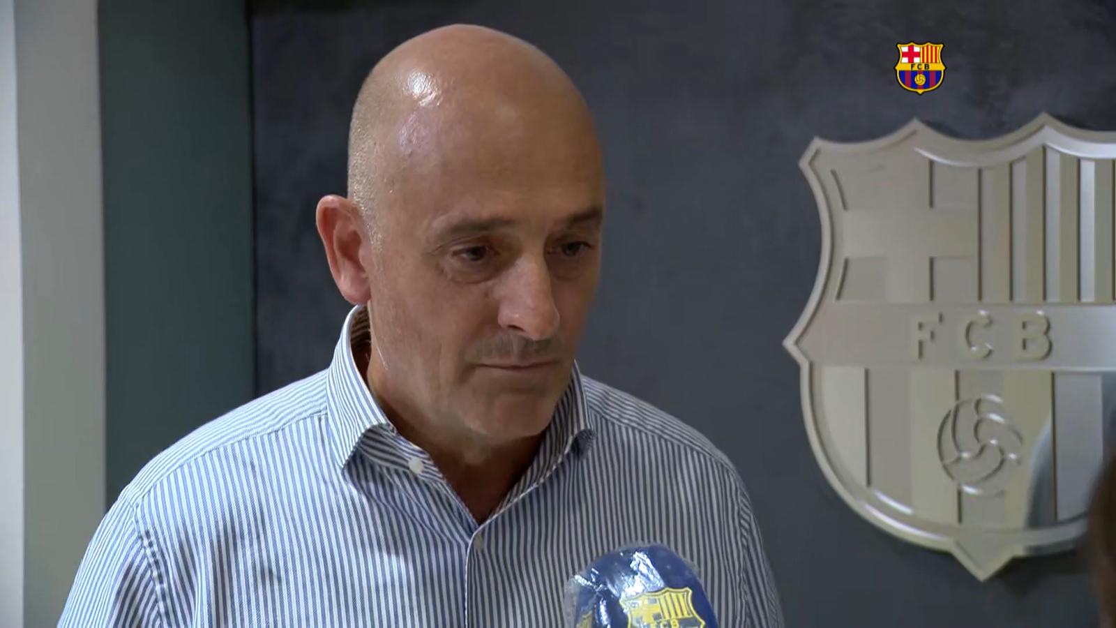 """Jordi Moix: """"Al Barça serem molt escrupolosos en seguir totes les passes dels nostres estatuts"""""""