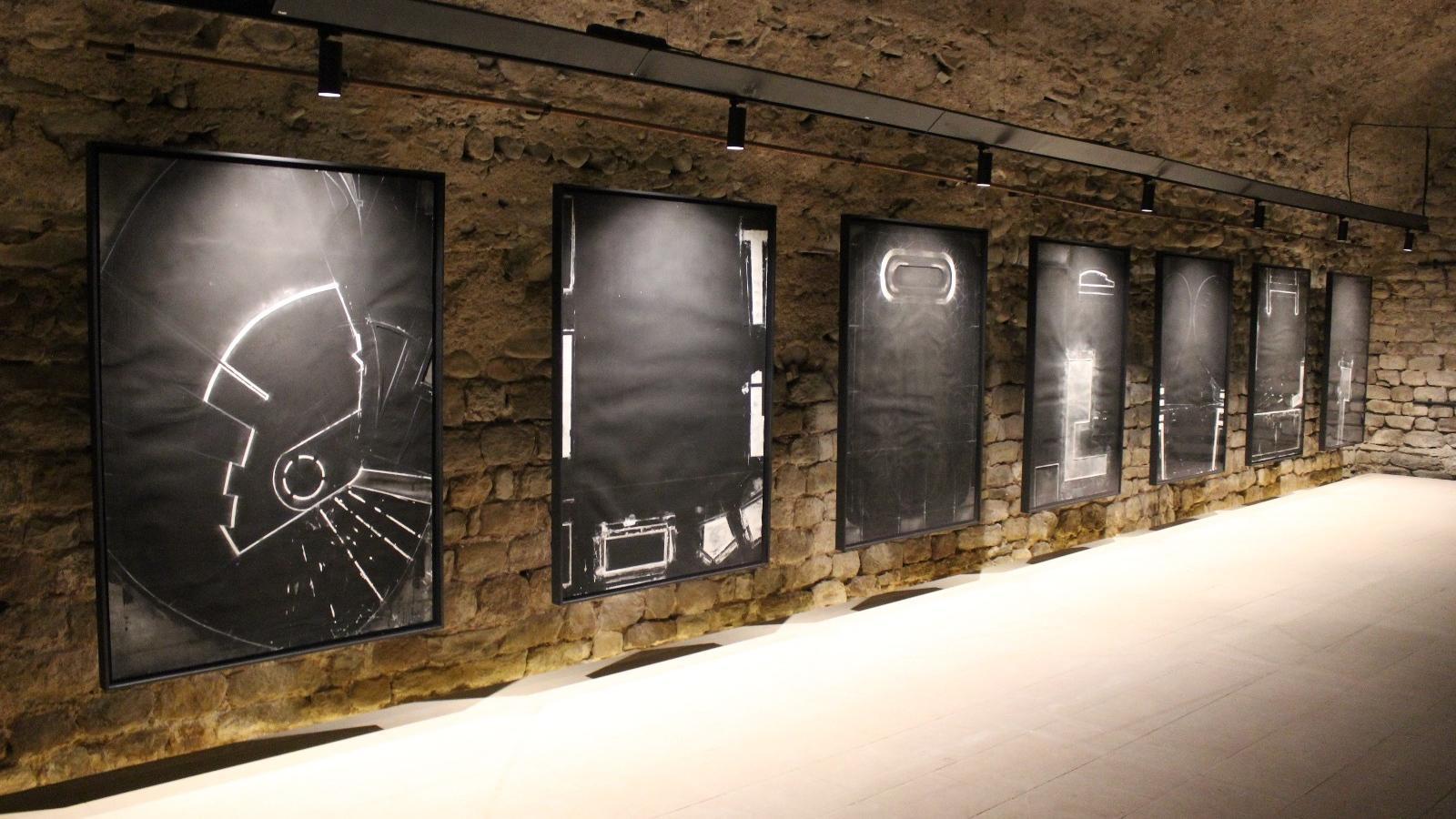 Les set pintures de l'Obra negra' de Frederic Amat a l'Albegueria de Vic
