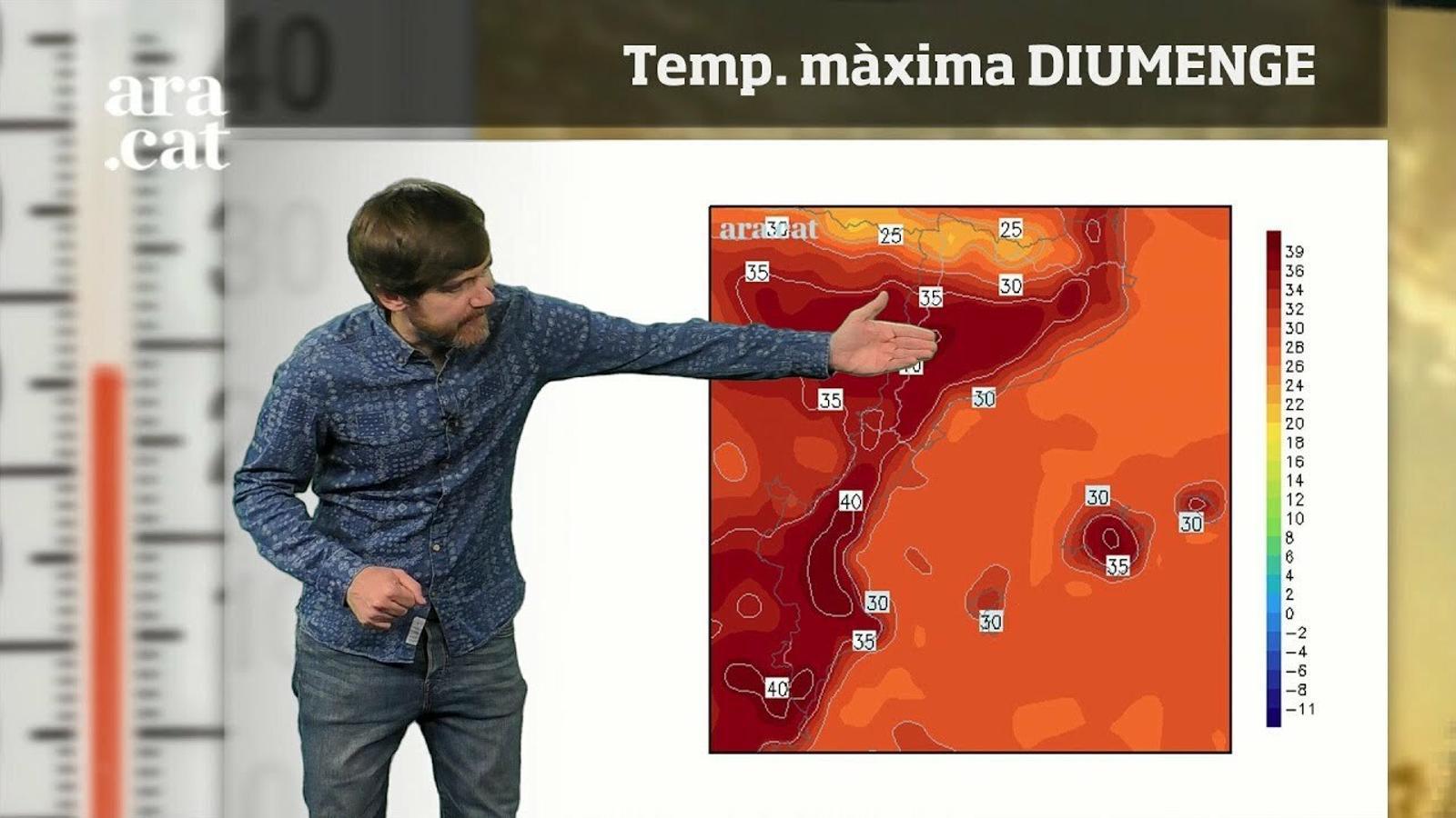 Méteo especial: cap de setmana amb temperatures de fins a 40 graus