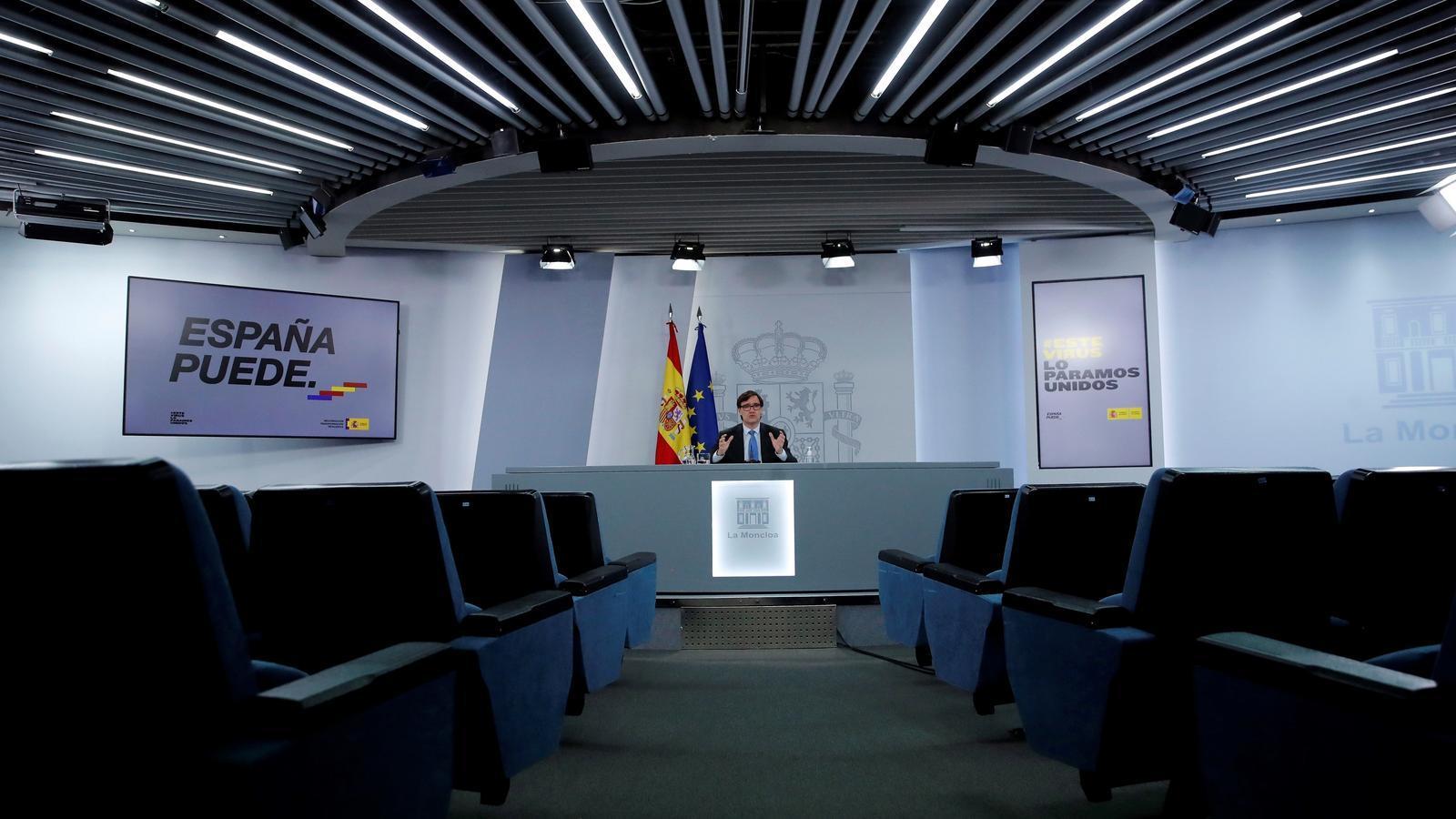 Illa imposa el confinament perimetral de Madrid i Ayuso es rebel·la