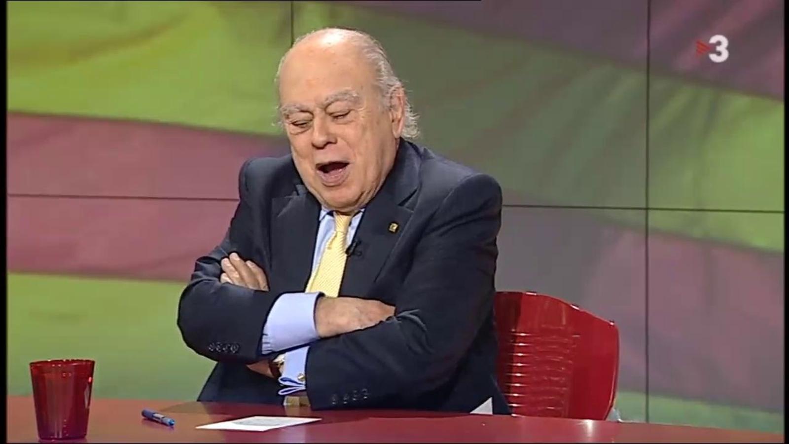 Jordi Pujol: No hi pot haver independència mentre el cambrer de Puigcerdà parli en castellà al negre que parla com Pompeu Fabra