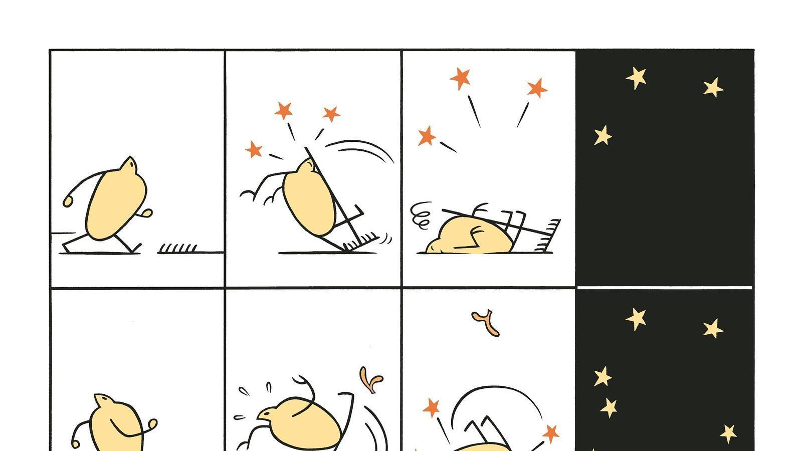 L'última entrega de Gràfica Radiant: '...i així s'expandeix l'univers', de Max