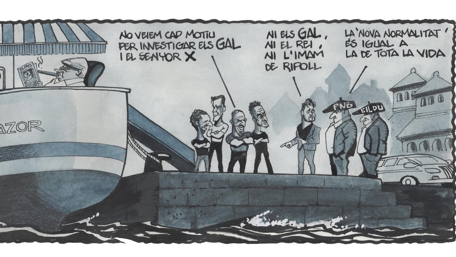 'A la contra', per Ferreres 28/06/2020