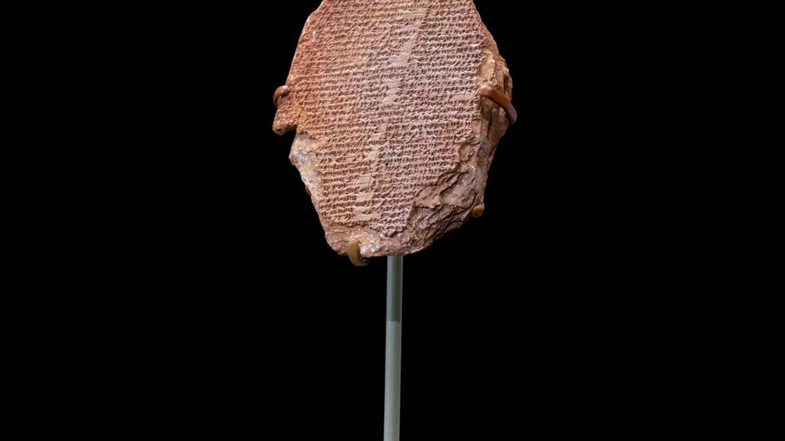 La taula de Guilgameix té 3.500 anys d'antiguitat