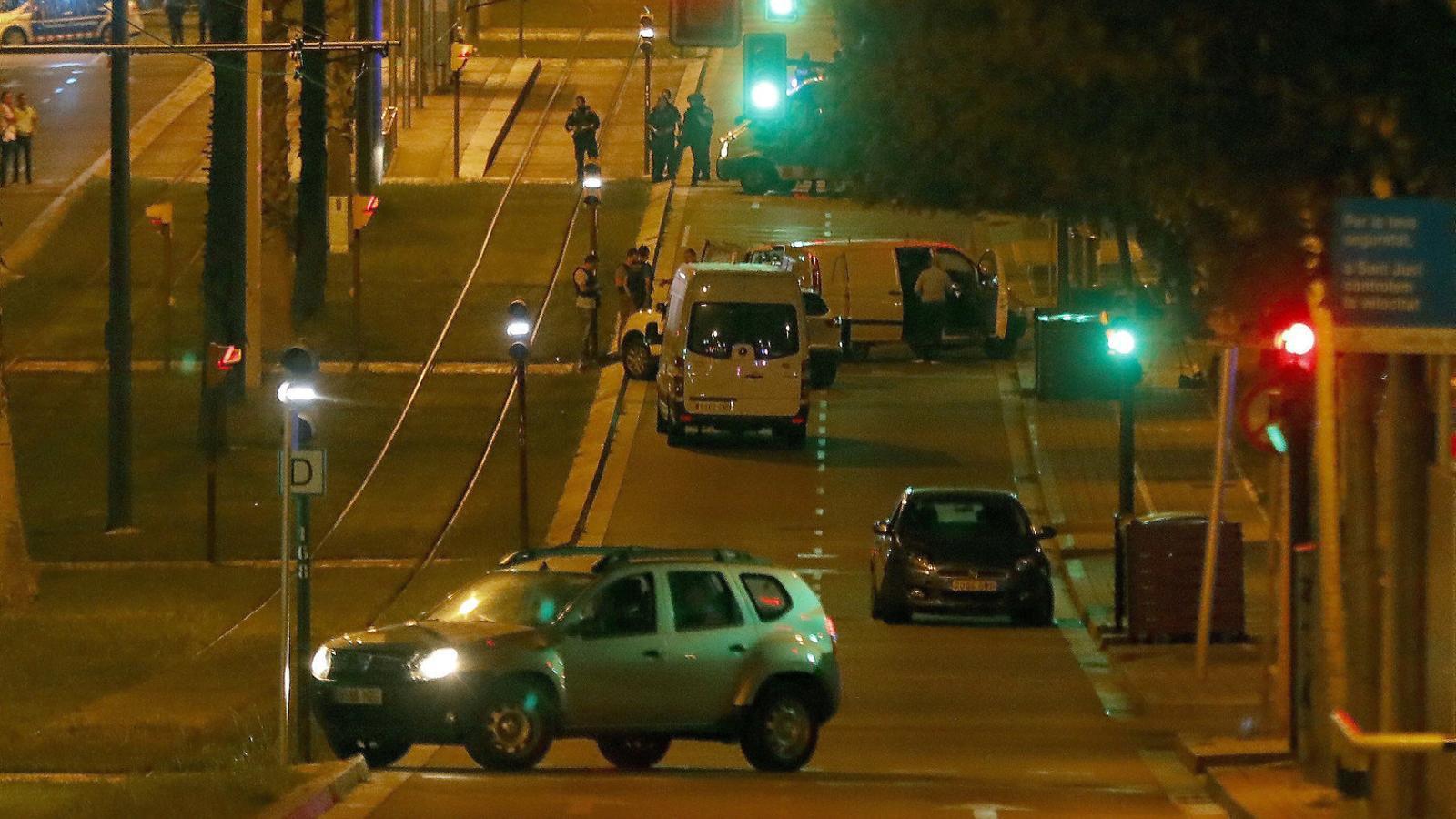 Els Mossos vinculen ara l'atac de la Rambla amb el cotxe de la Diagonal
