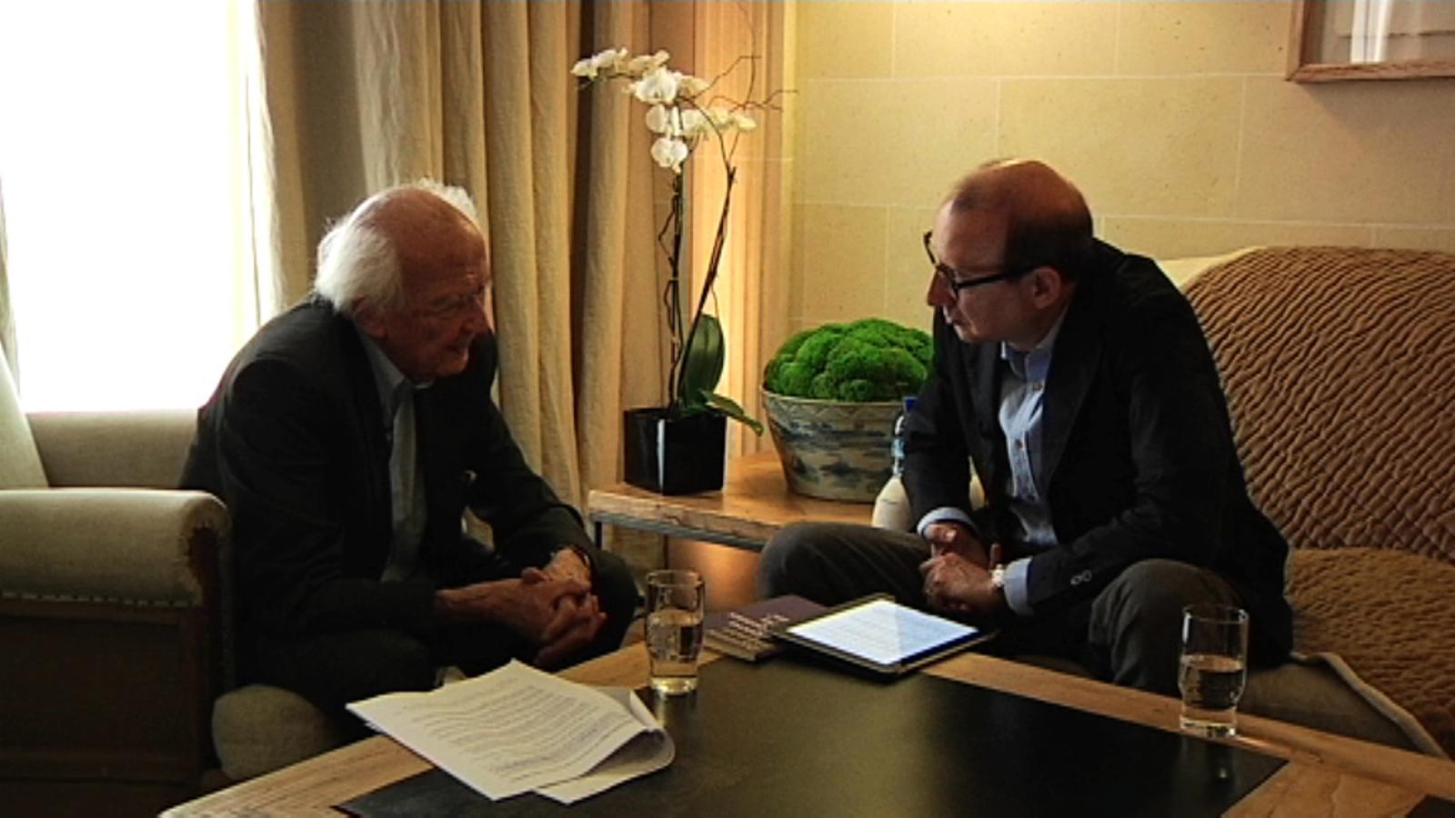 Zygmunt Bauman: Vivim en una època d'avarícia il·limitada
