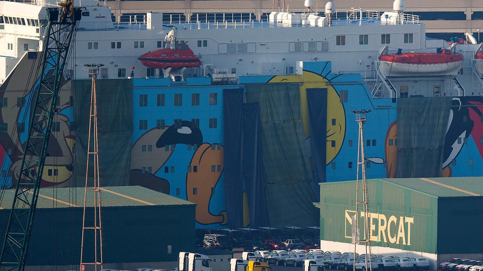 #FreePiolin, un 'trending topic' mundial que demana l'alliberament del Piuet del vaixell per frenar l'1-O
