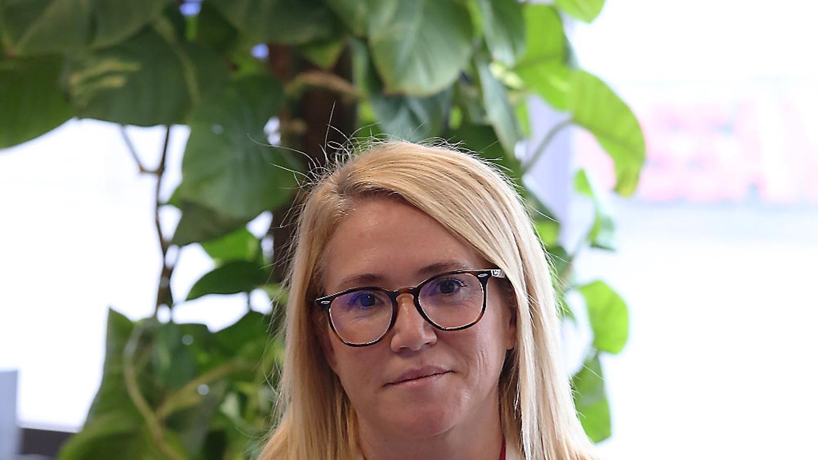 """""""Cap mercat laboral podria tornar                     a resistir un altre estat d'alarma"""" Pilar Ortiz"""