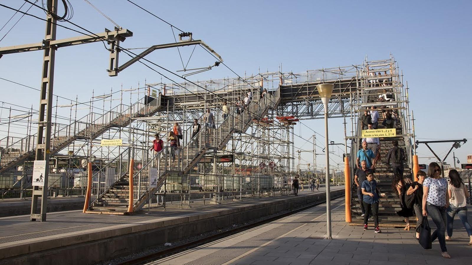 """""""L'estació de Granollers-Centre és pitjor que Port Aventura"""""""