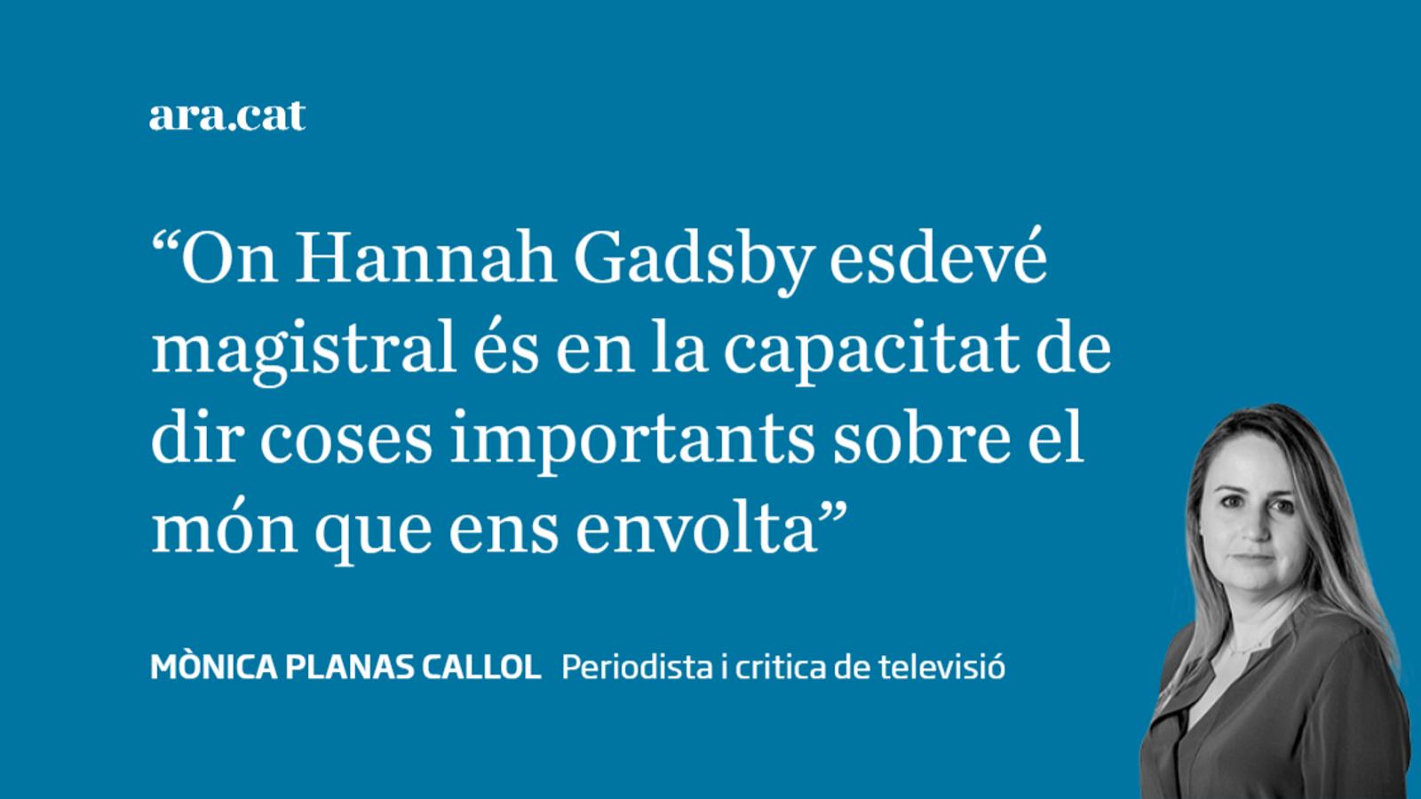 El talent de Hannah Gadsby
