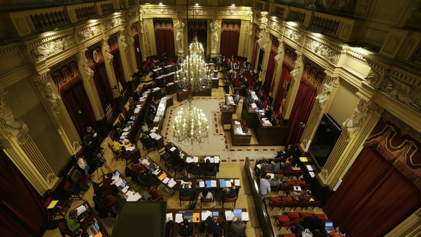 El ple del Parlament balear, en una imatge d'arxiu